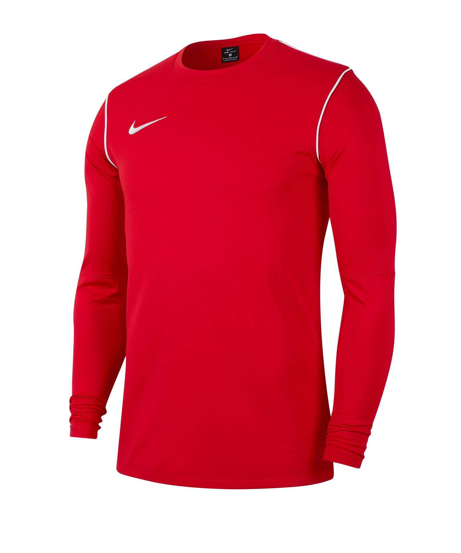 Nike Park 20 Training Sweatshirt Rot F657 - rot