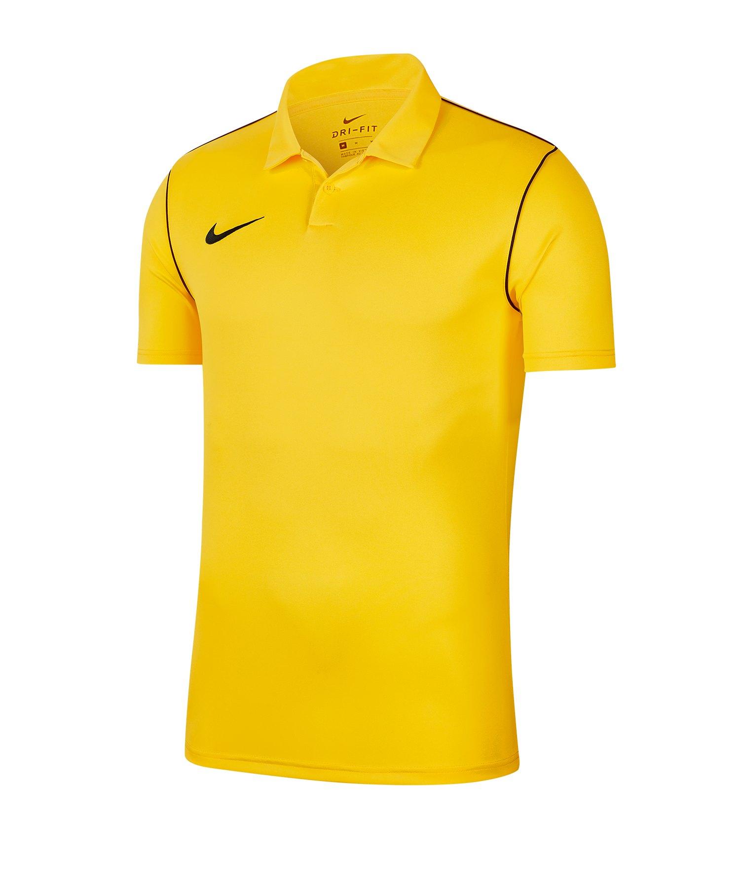 Nike Park 20 Poloshirt Gelb F719 - gelb