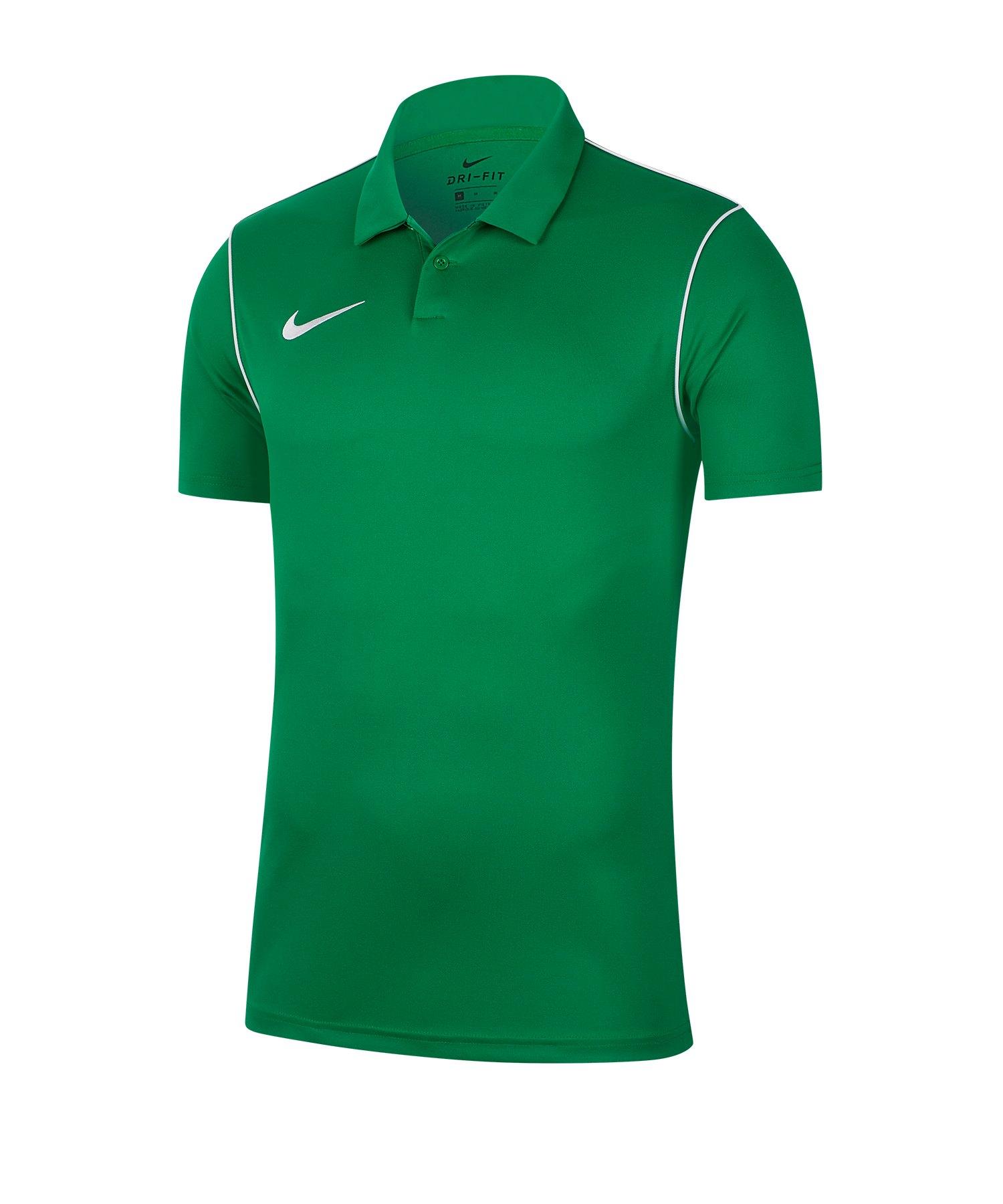 Nike Park 20 Poloshirt Grün F302 - gruen