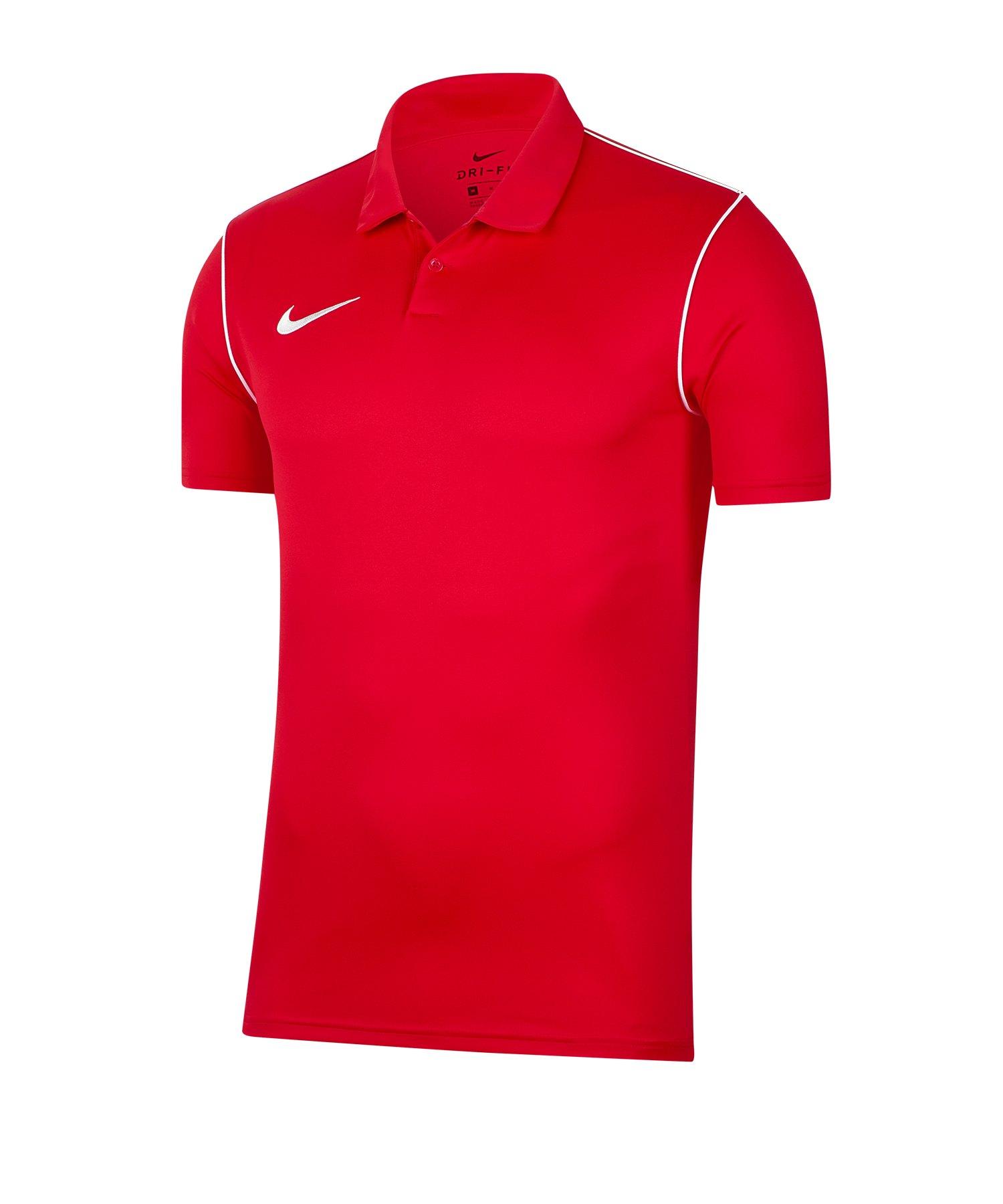 Nike Park 20 Poloshirt Rot F657 - rot