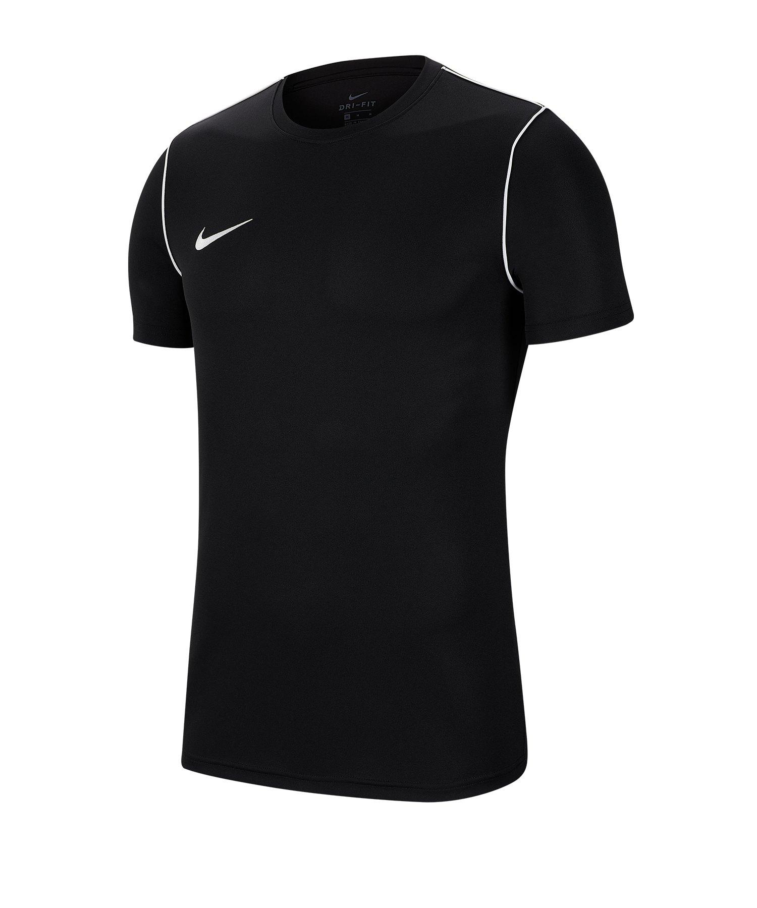 Nike Park 20 Training Shirt Schwarz F010 - schwarz