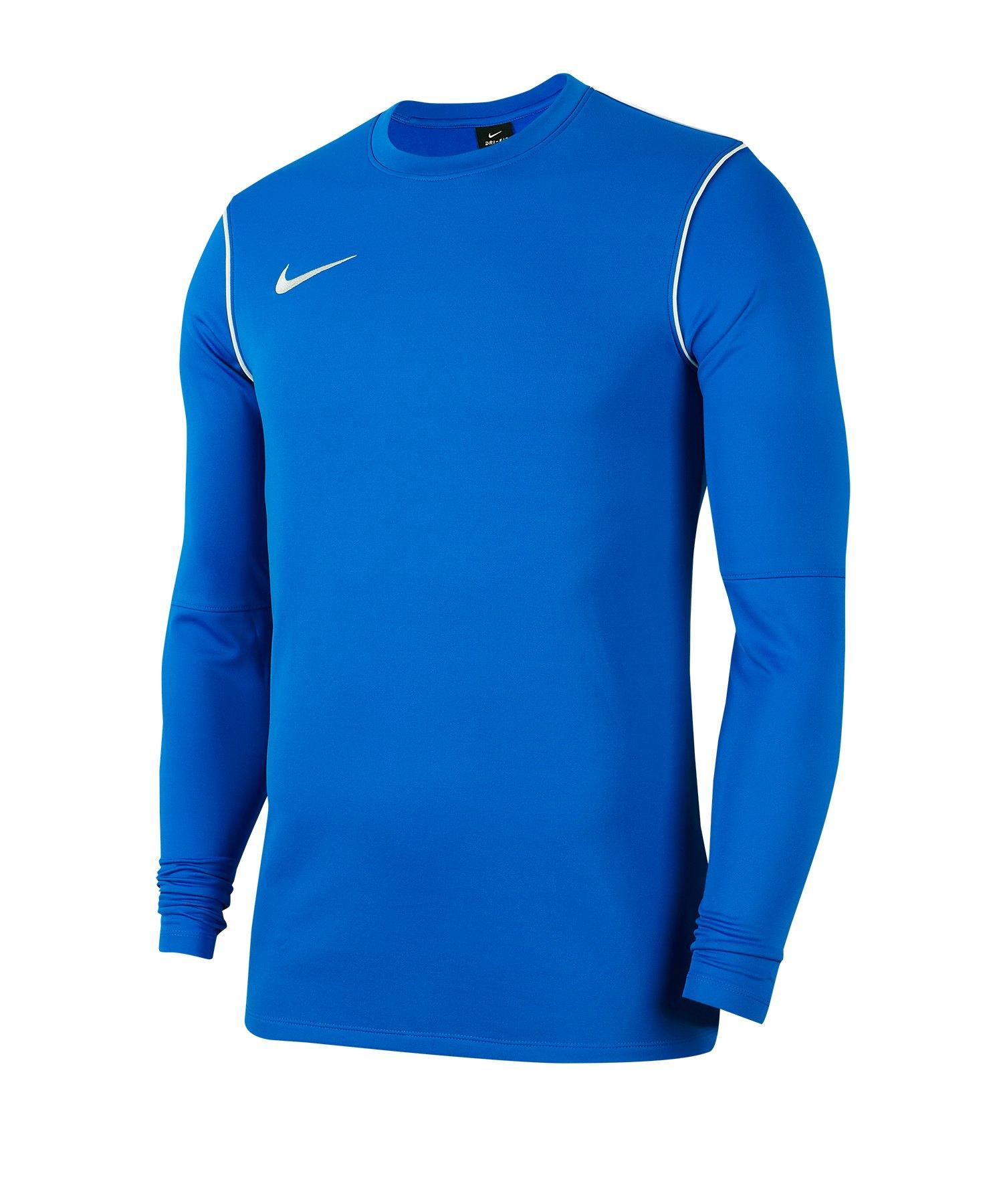 Nike Park 20 Sweatshirt Kids Blau F463 - blau