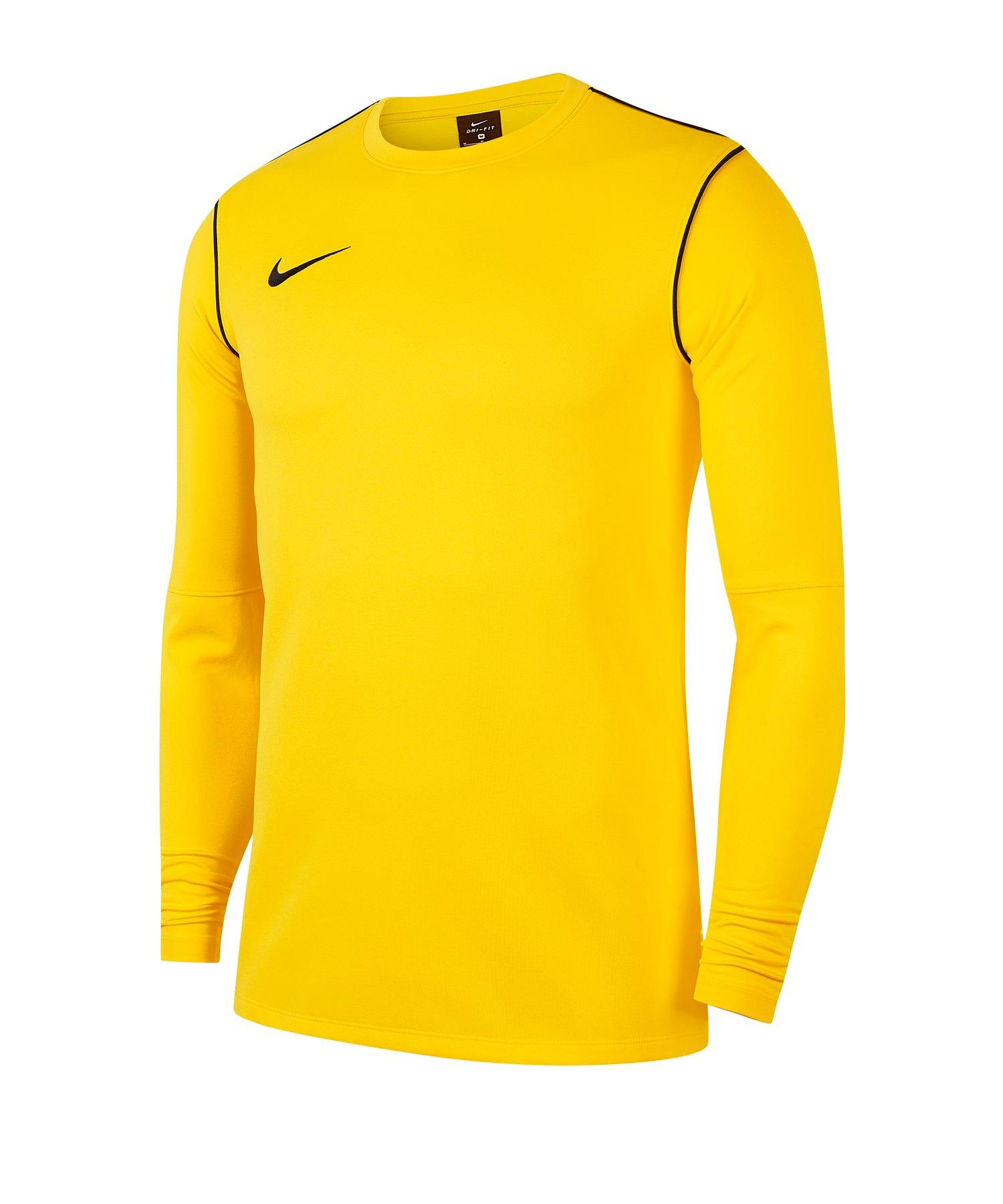 Nike Park 20 Sweatshirt Kids Gelb F719 - gelb