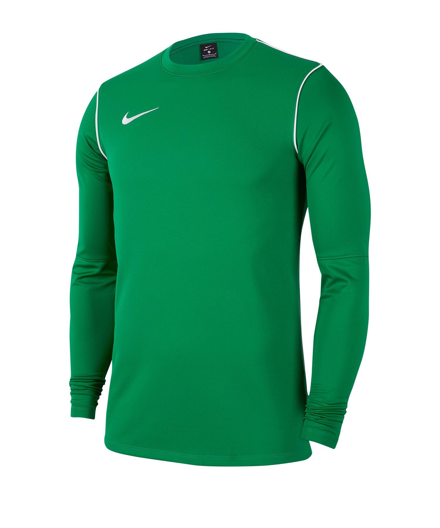 Nike Park 20 Sweatshirt Kids Grün F302 - gruen