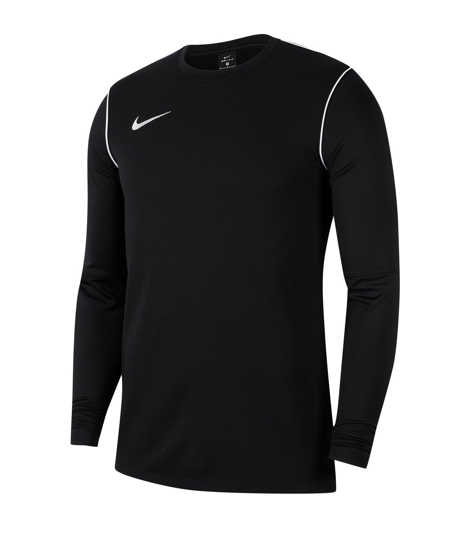 Nike Park 20 Sweatshirt Kids Schwarz F010 - schwarz