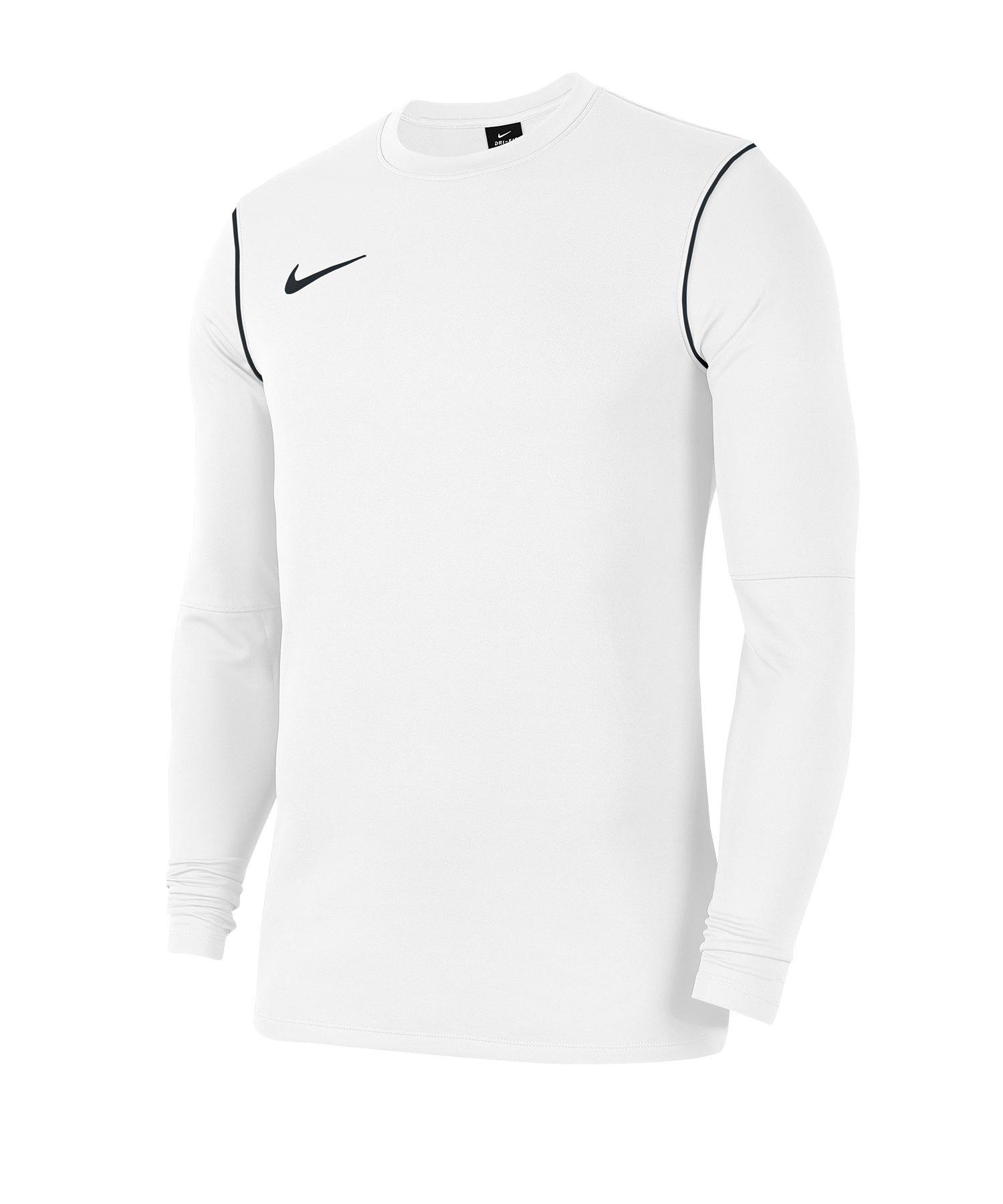 Nike Park 20 Sweatshirt Kids Weiss F100 - weiss