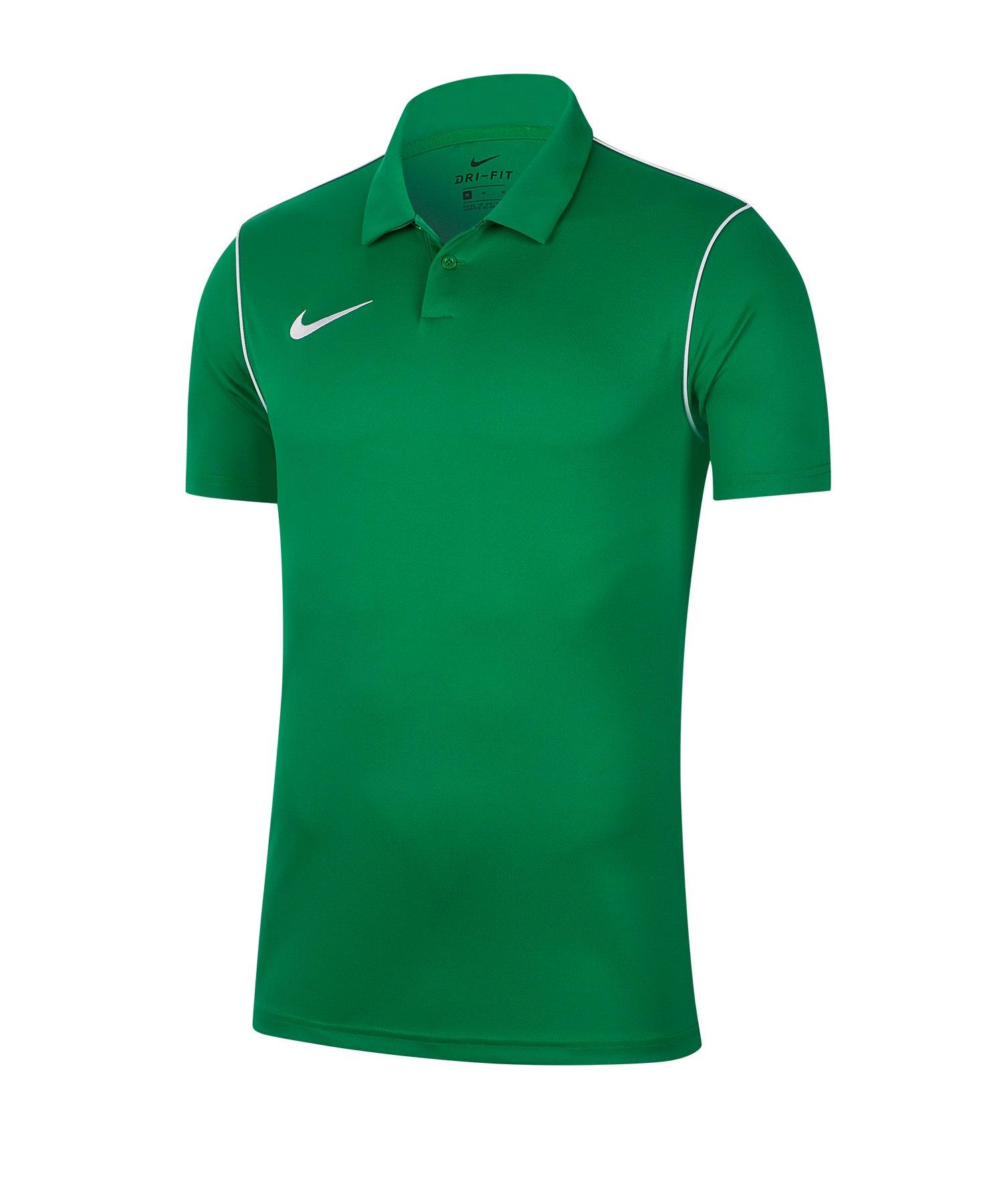 Nike Park 20 Poloshirt Kids Grün F302 - gruen
