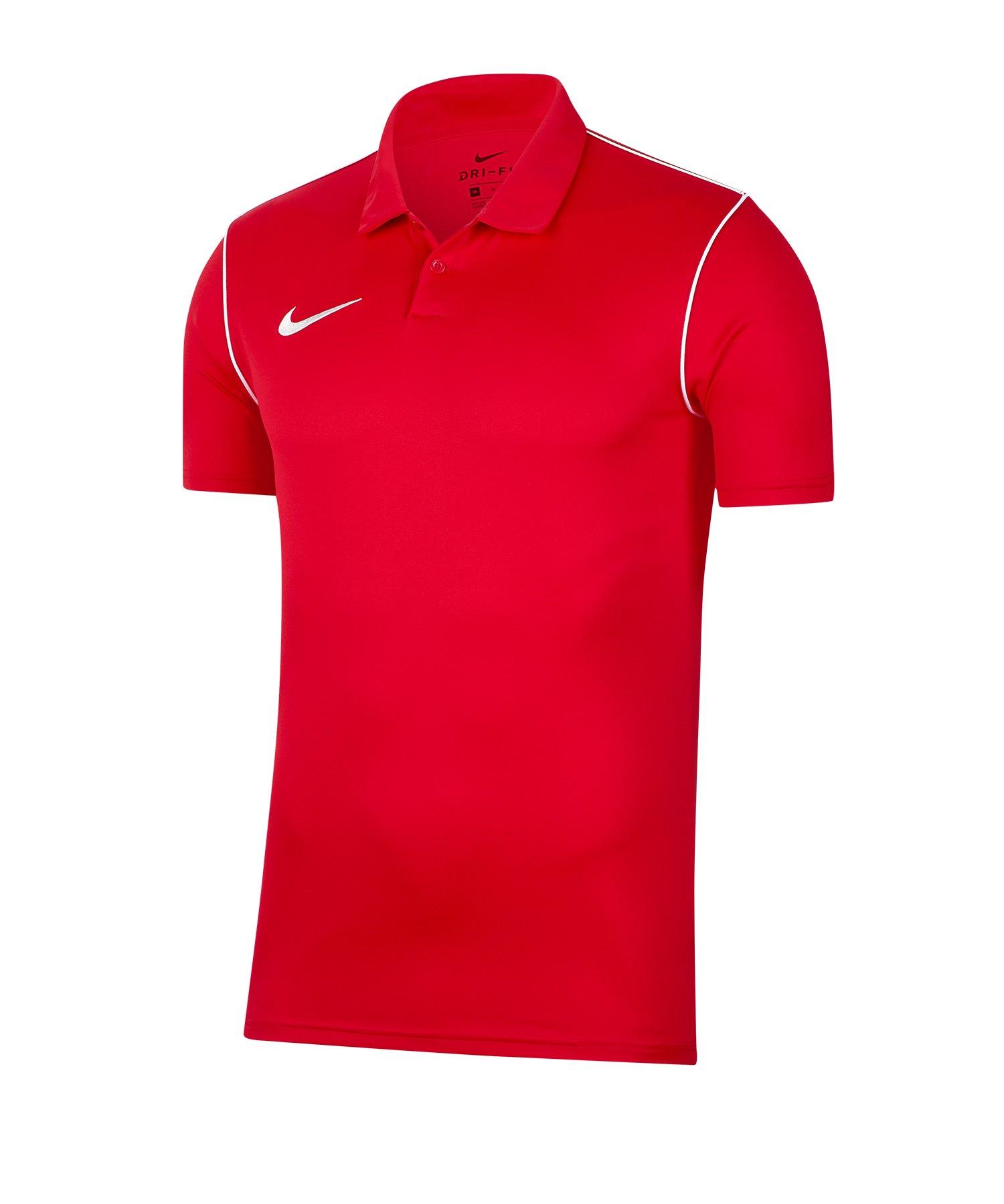 Nike Park 20 Poloshirt Kids Rot F657 - rot