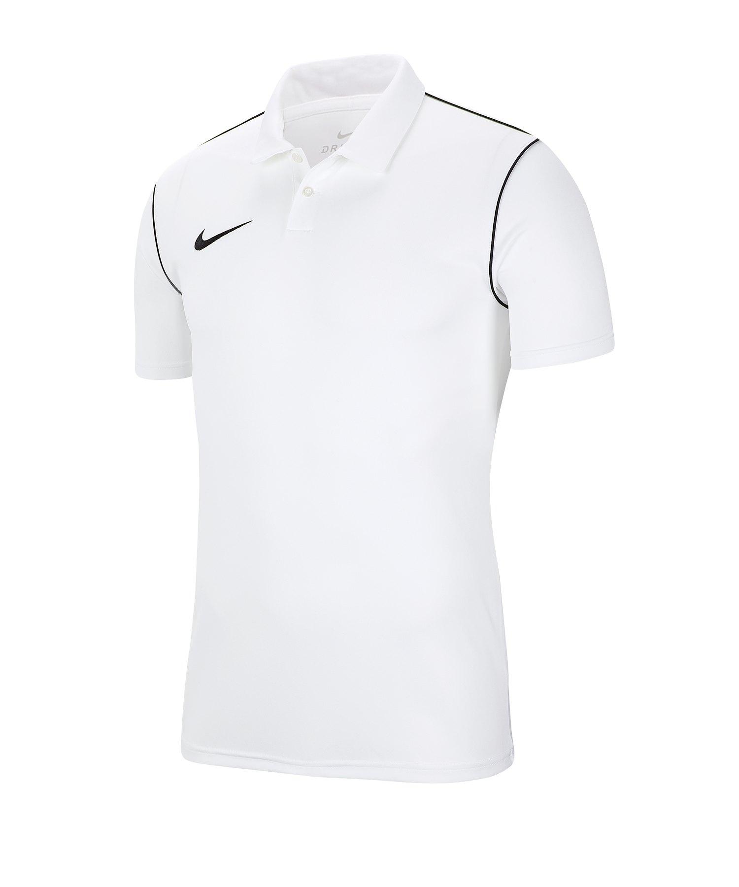 Nike Park 20 Poloshirt Kids Weiss F100 - weiss