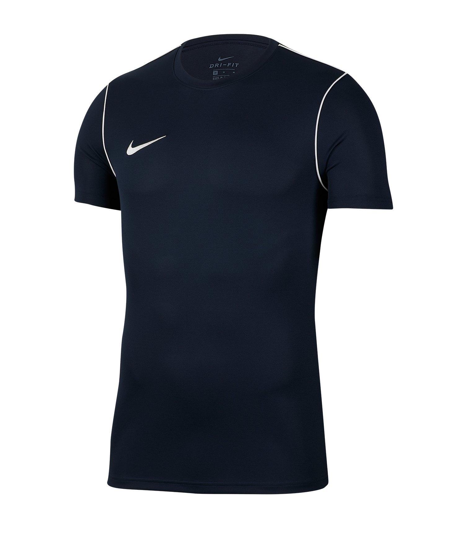Nike Park 20 Training Shirt kurzarm Kids Blau F451 - blau