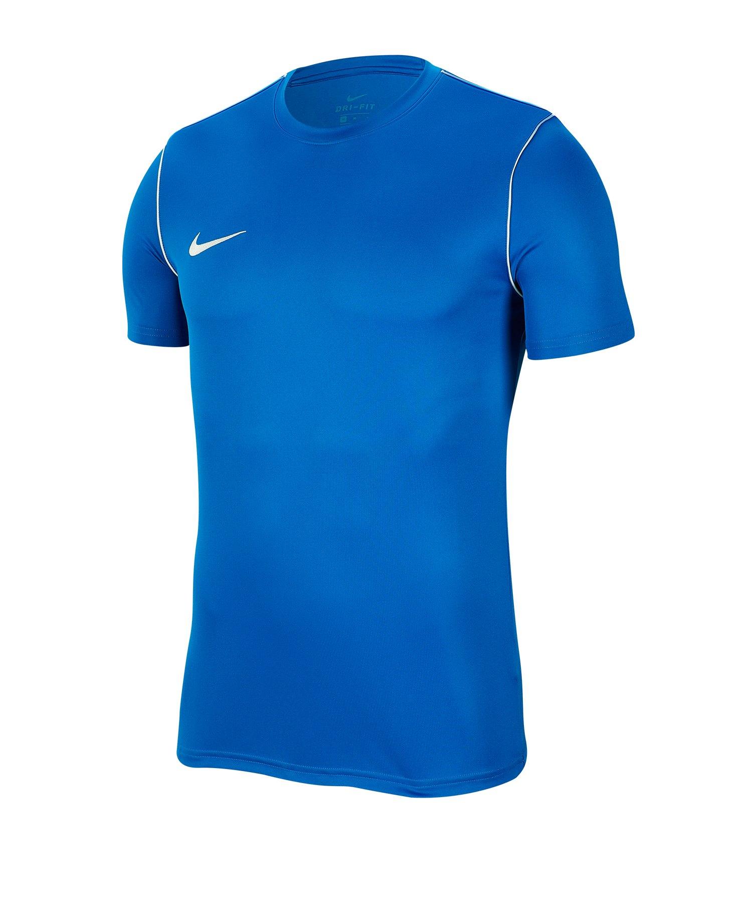 Nike Park 20 Training Shirt kurzarm Kids Blau F463 - blau