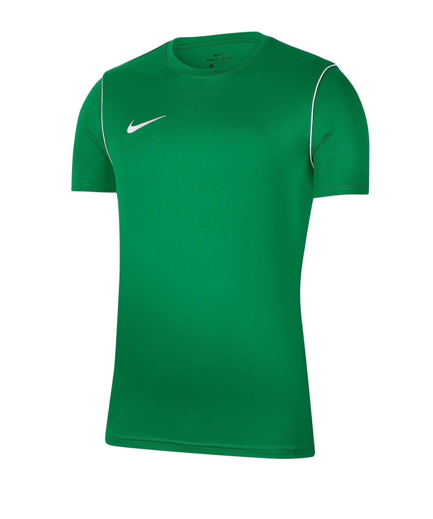 Nike Park 20 Training Shirt kurzarm Kids Grün F302 - gruen