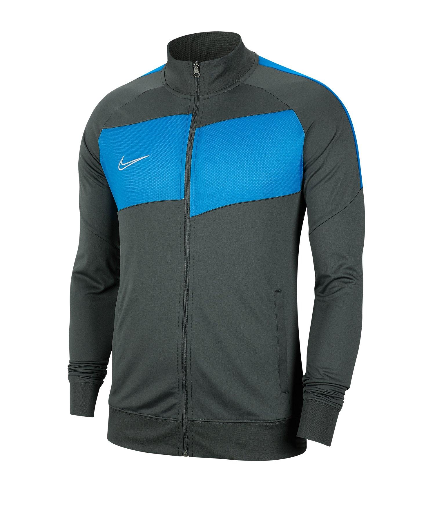 Nike Academy Pro Trainingsjacke Grau Blau F067 - grau
