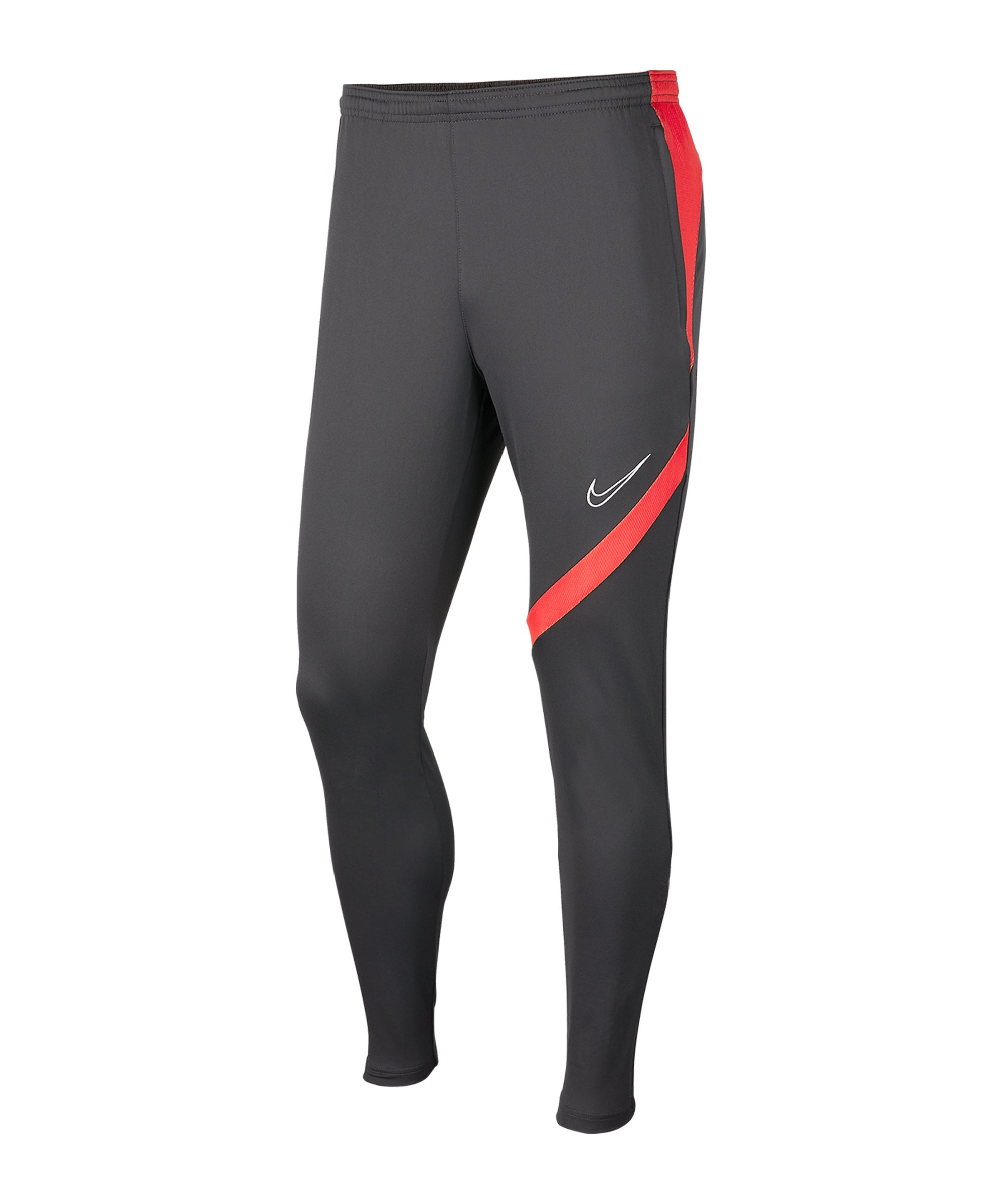 Nike Academy Pro Trainingshose Grau Rot F070 - grau