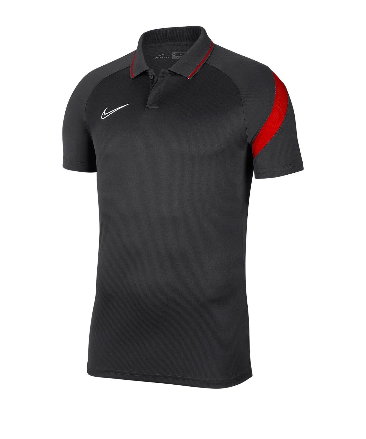 Nike Academy Pro Poloshirt Grau F061 - grau