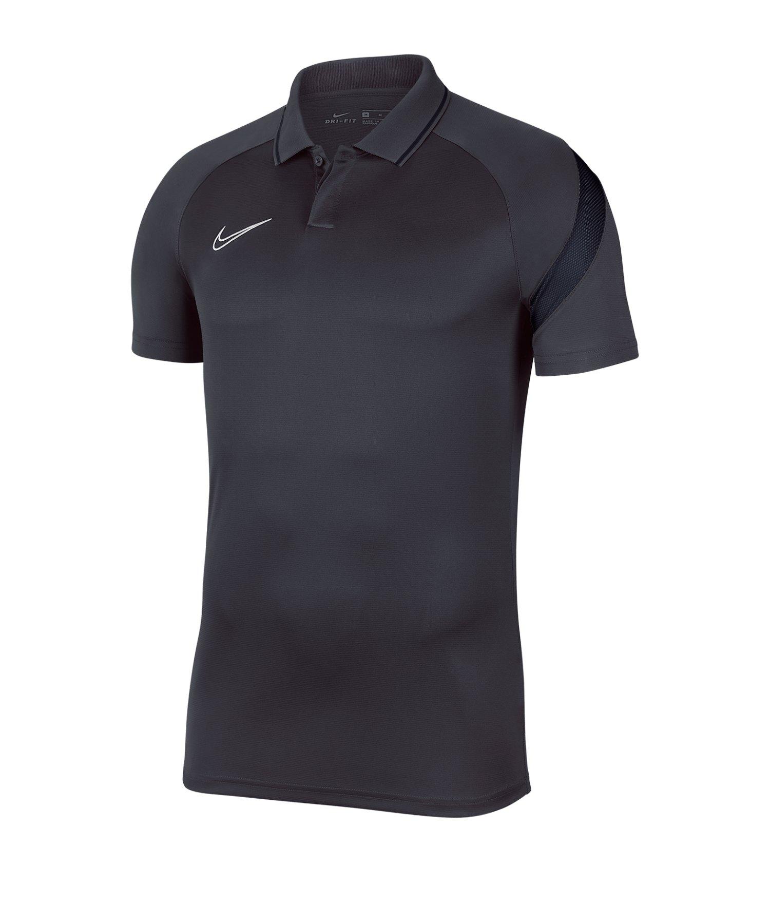 Nike Academy Pro Poloshirt Grau F067 - grau