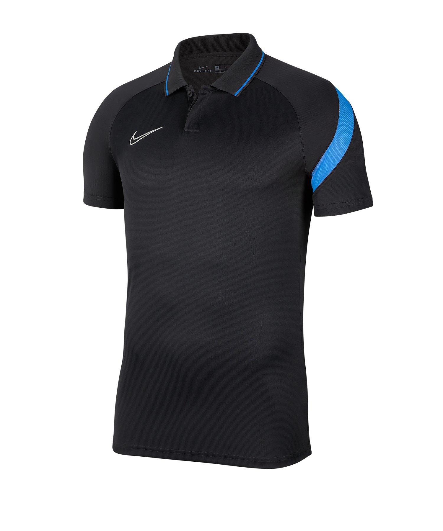 Nike Academy Pro Poloshirt Grau F068 - grau