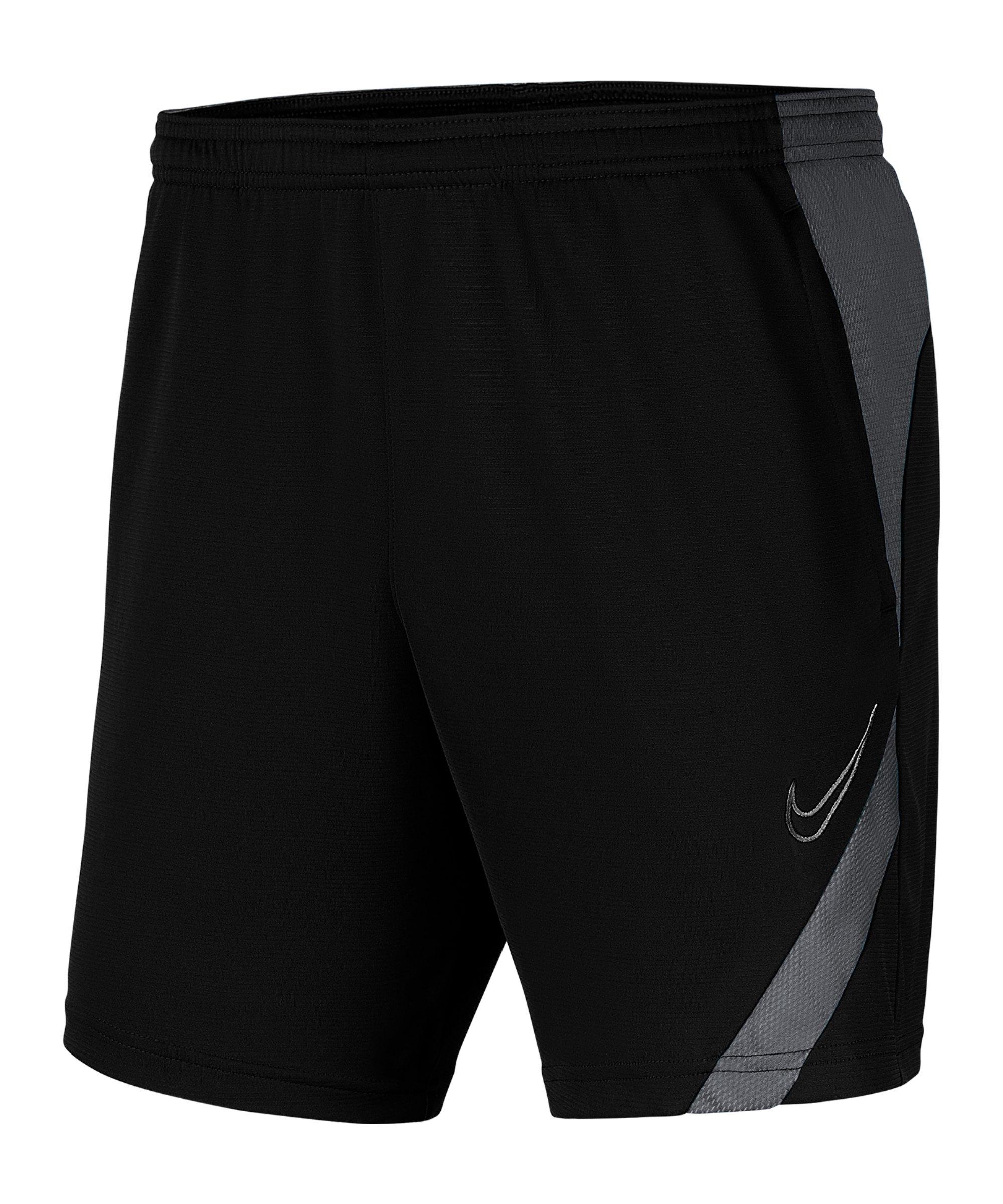 Nike Academy Pro Short Grau Schwarz F010 - schwarz