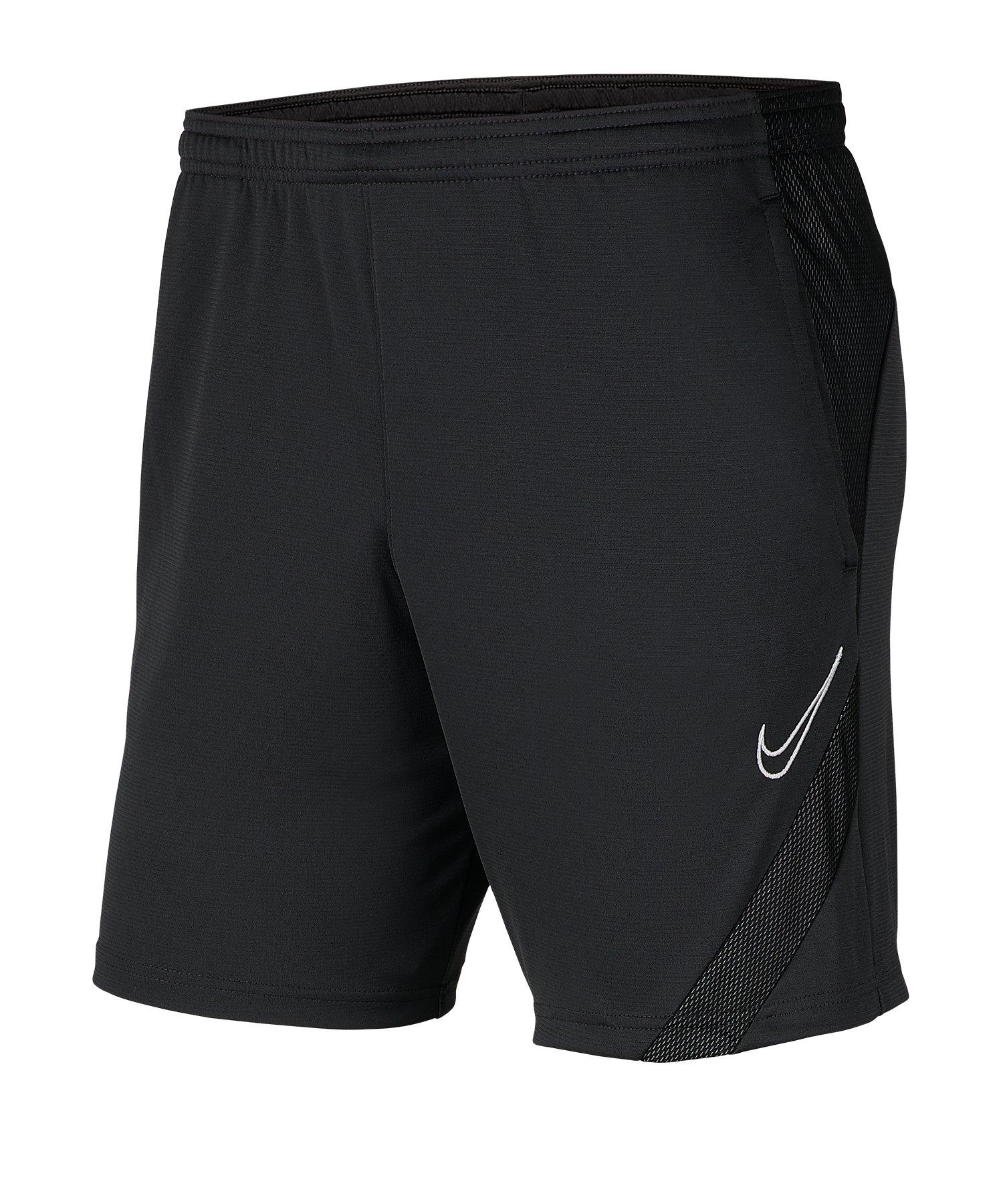 Nike Academy Pro Short Grau Schwarz F061 - grau