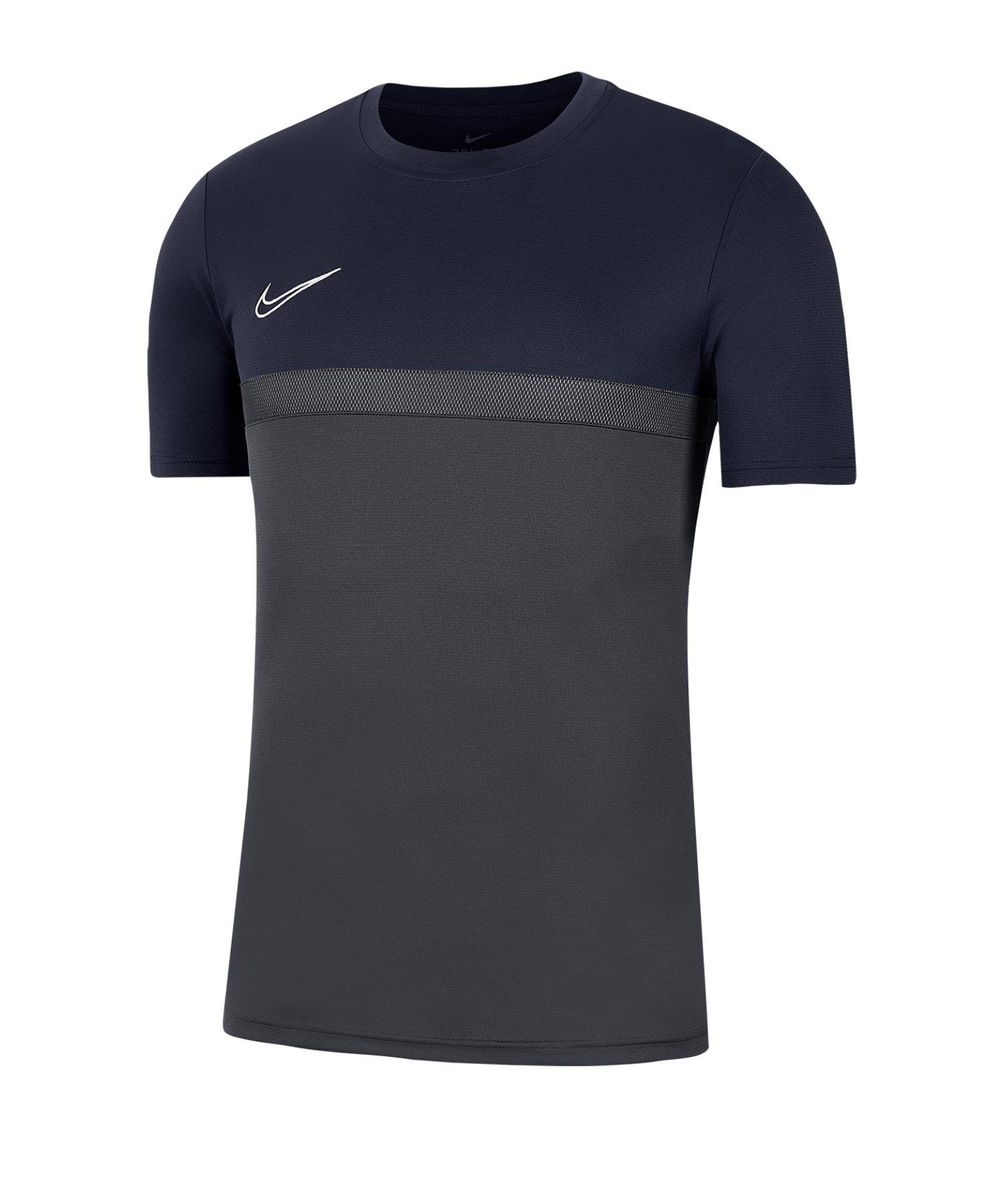 Nike Academy Pro T-Shirt Shirt Grau F076 - grau