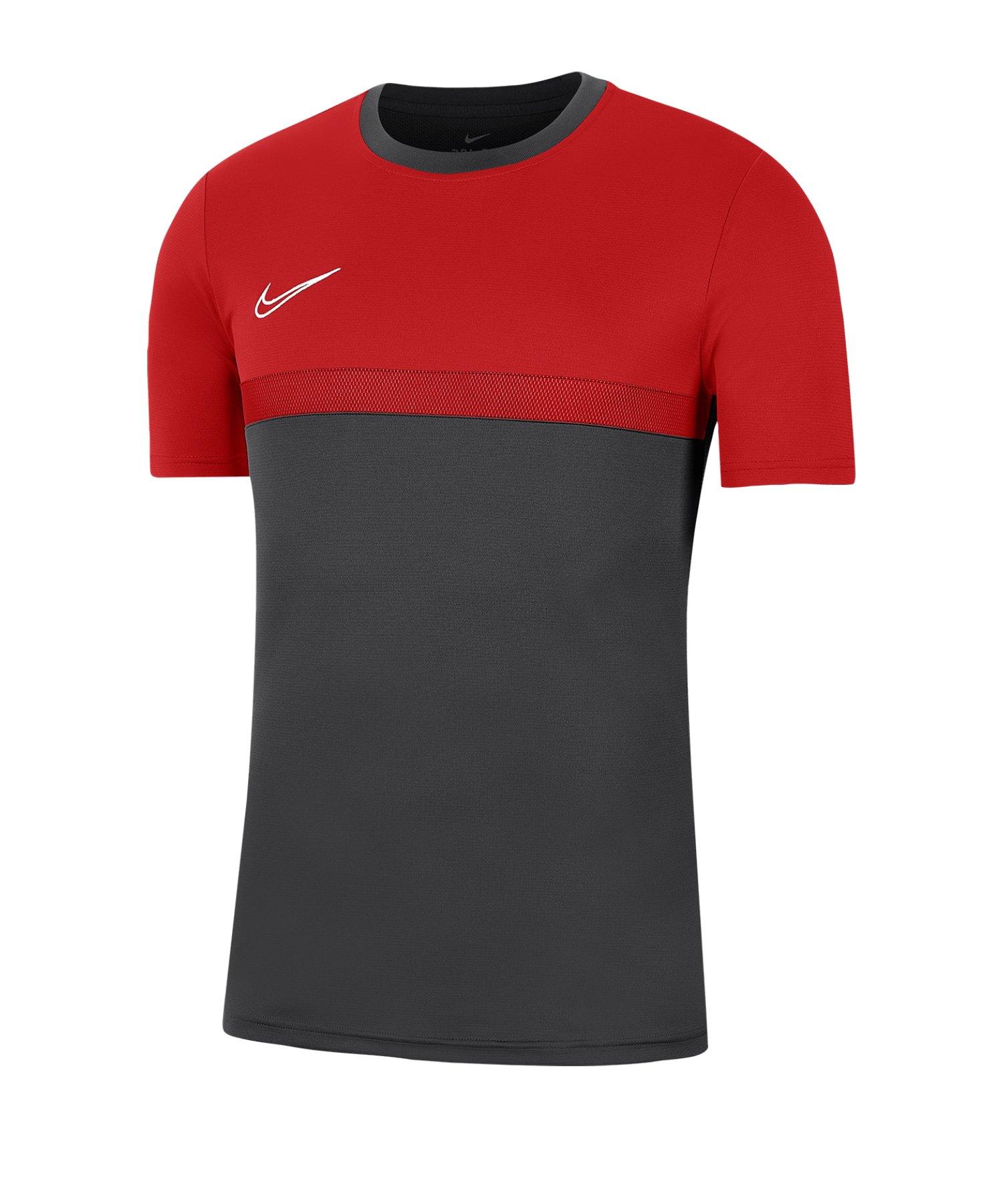 Nike Academy Pro T-Shirt Shirt Grau F078 - grau