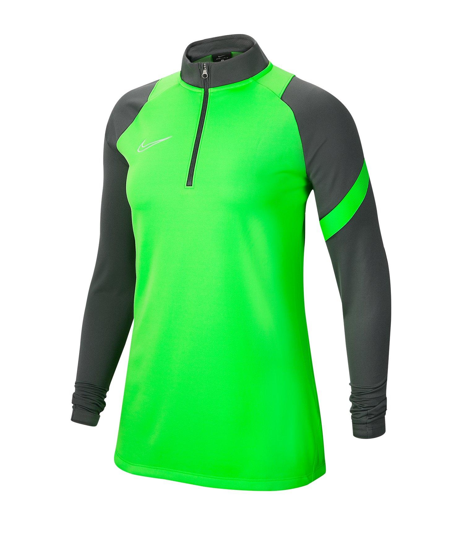 Nike Academy Pro Sweatshirt Damen Grün F398 - gruen