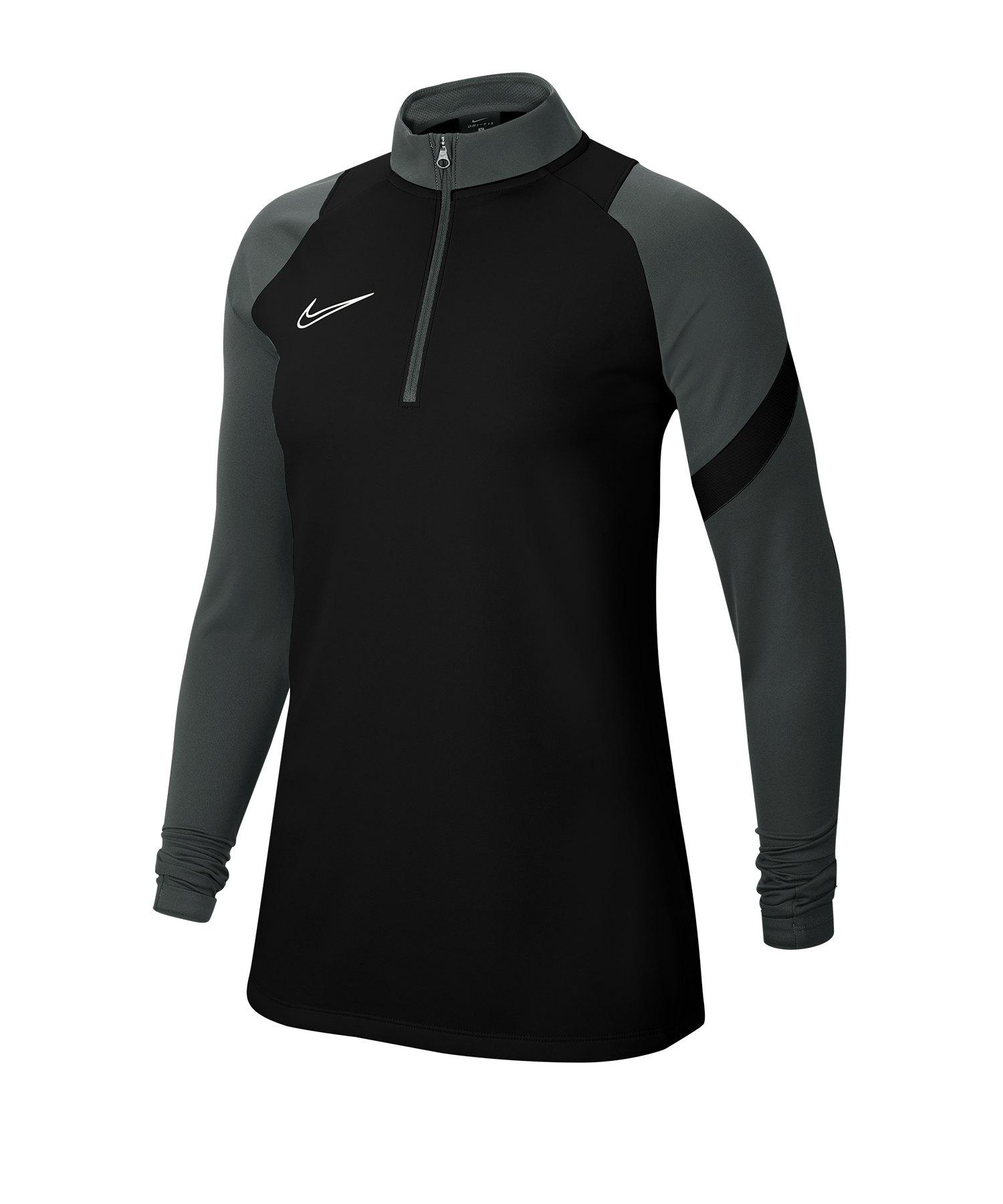 Nike Academy Pro Sweatshirt Damen Schwarz F011 - schwarz
