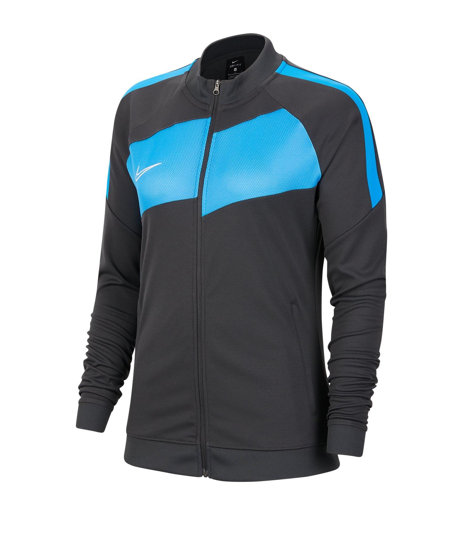 Nike Academy Pro Jacke Damen Grau Blau F060 - grau