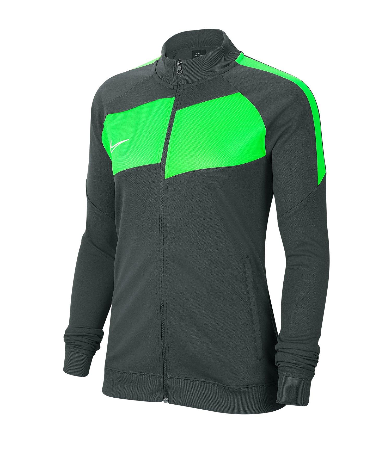 Nike Academy Pro Jacke Damen Grau Grün F061 - grau