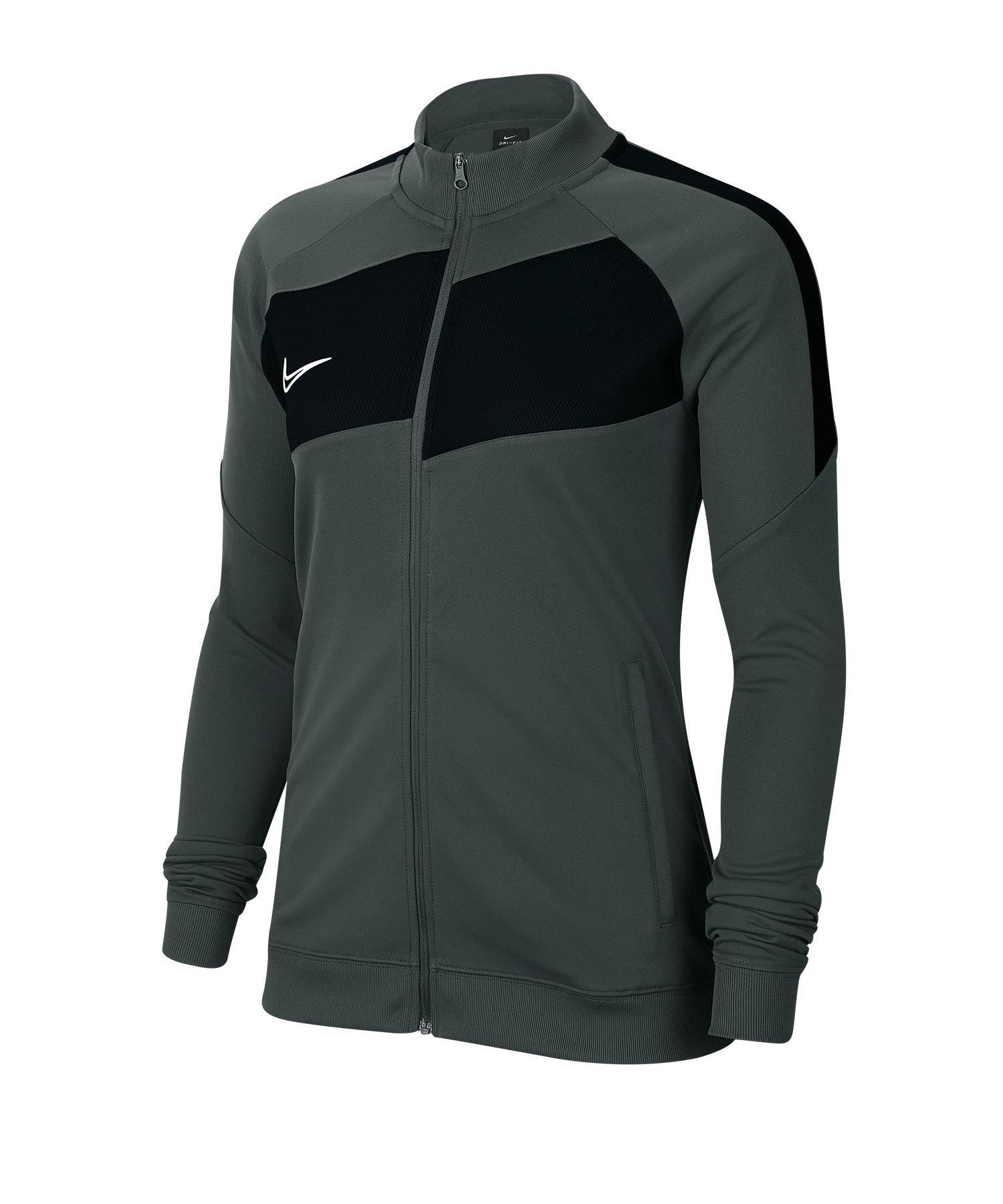 Nike Academy Pro Jacke Damen Grau Schwarz F010 - schwarz