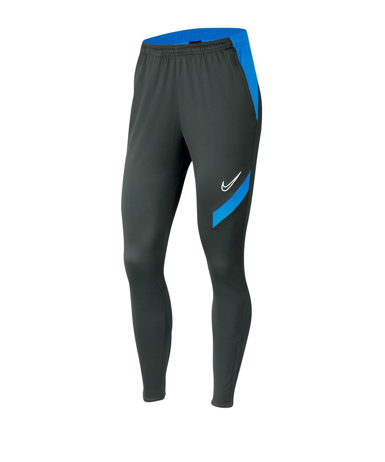 Nike Academy Pro Pants Damen Grau Blau F060 - grau
