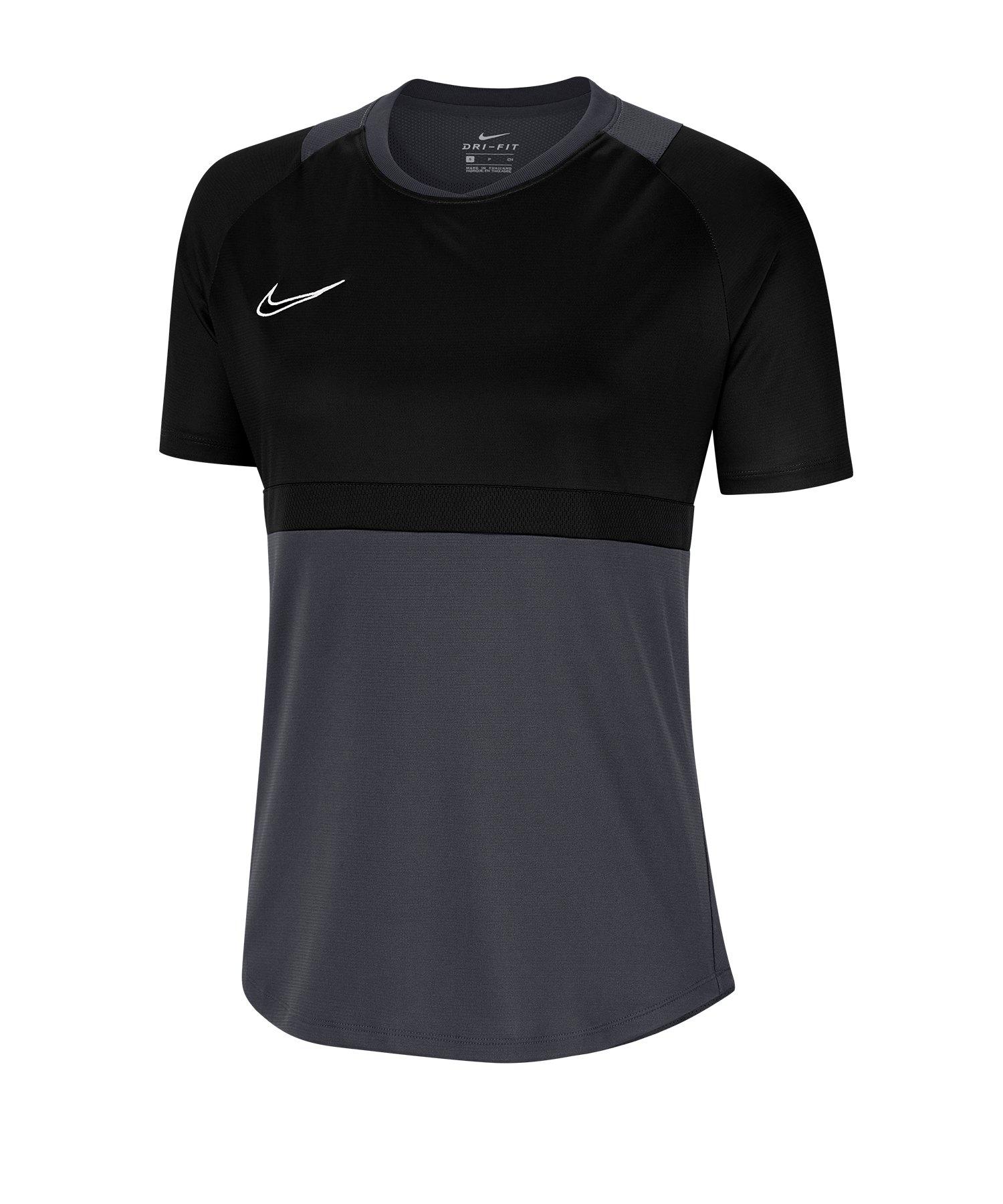 Nike Academy Pro Shirt kurzarm Damen F010 - schwarz