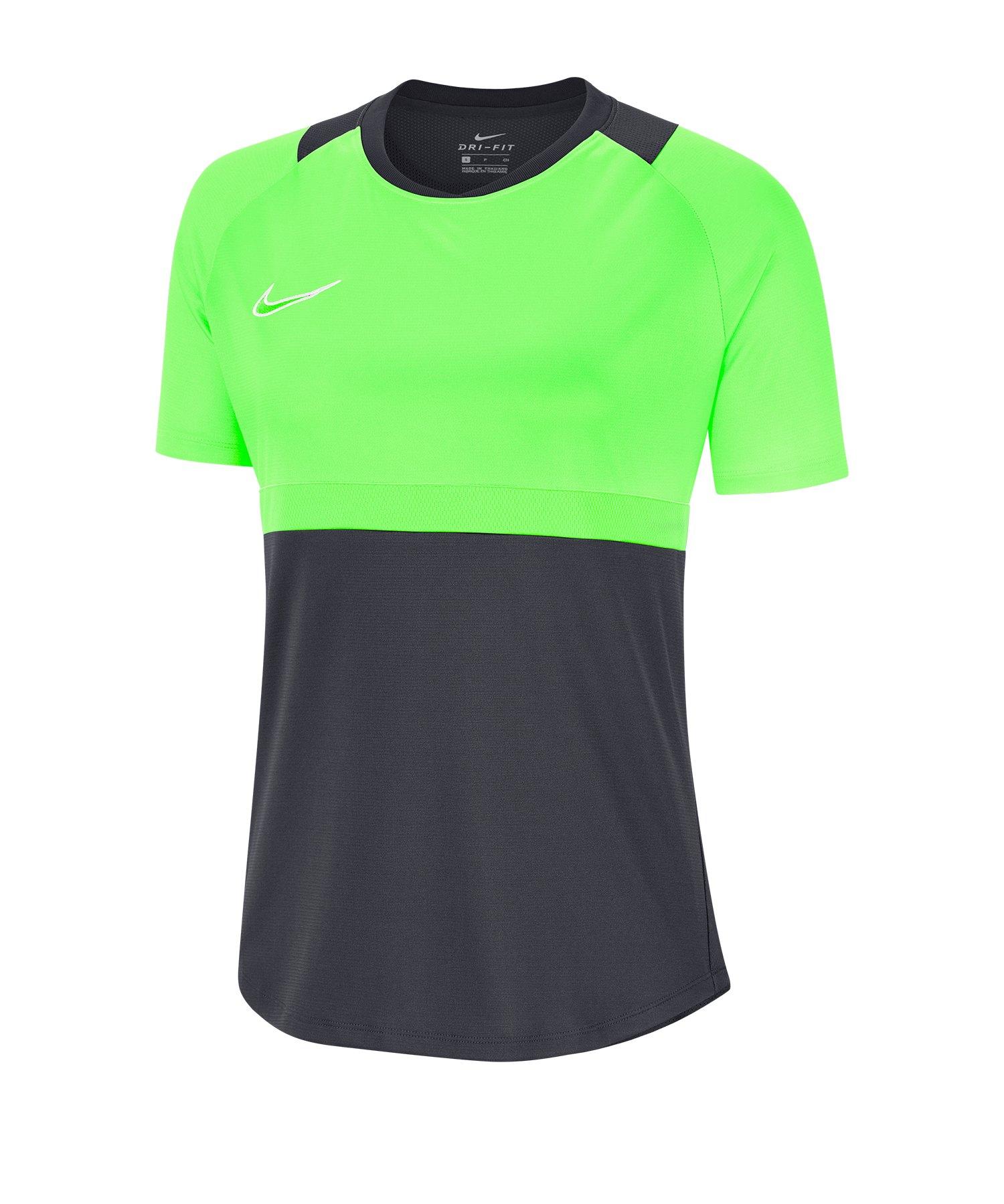 Nike Academy Pro Shirt kurzarm Damen F062 - grau