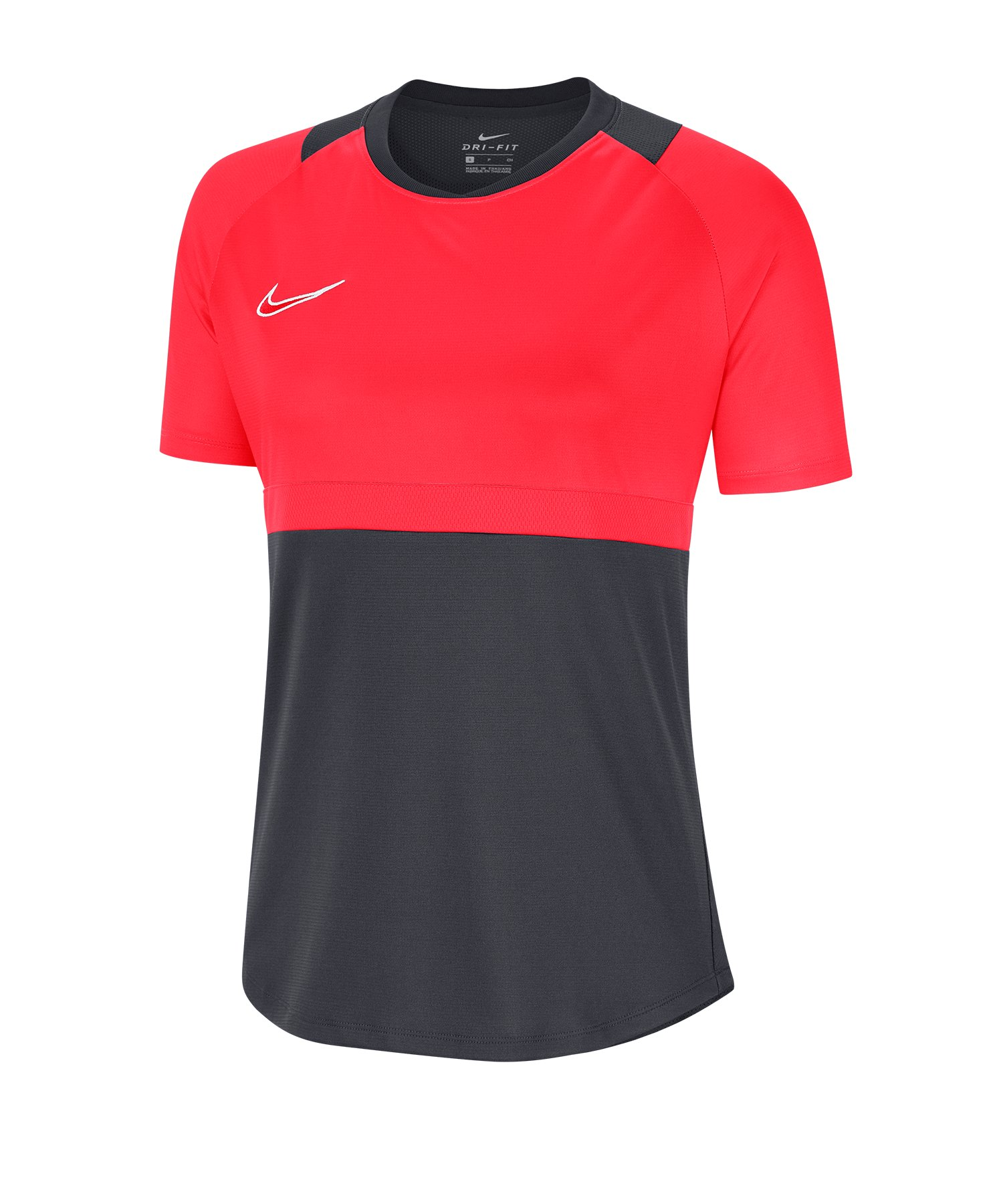 Nike Academy Pro Shirt kurzarm Damen F066 - grau