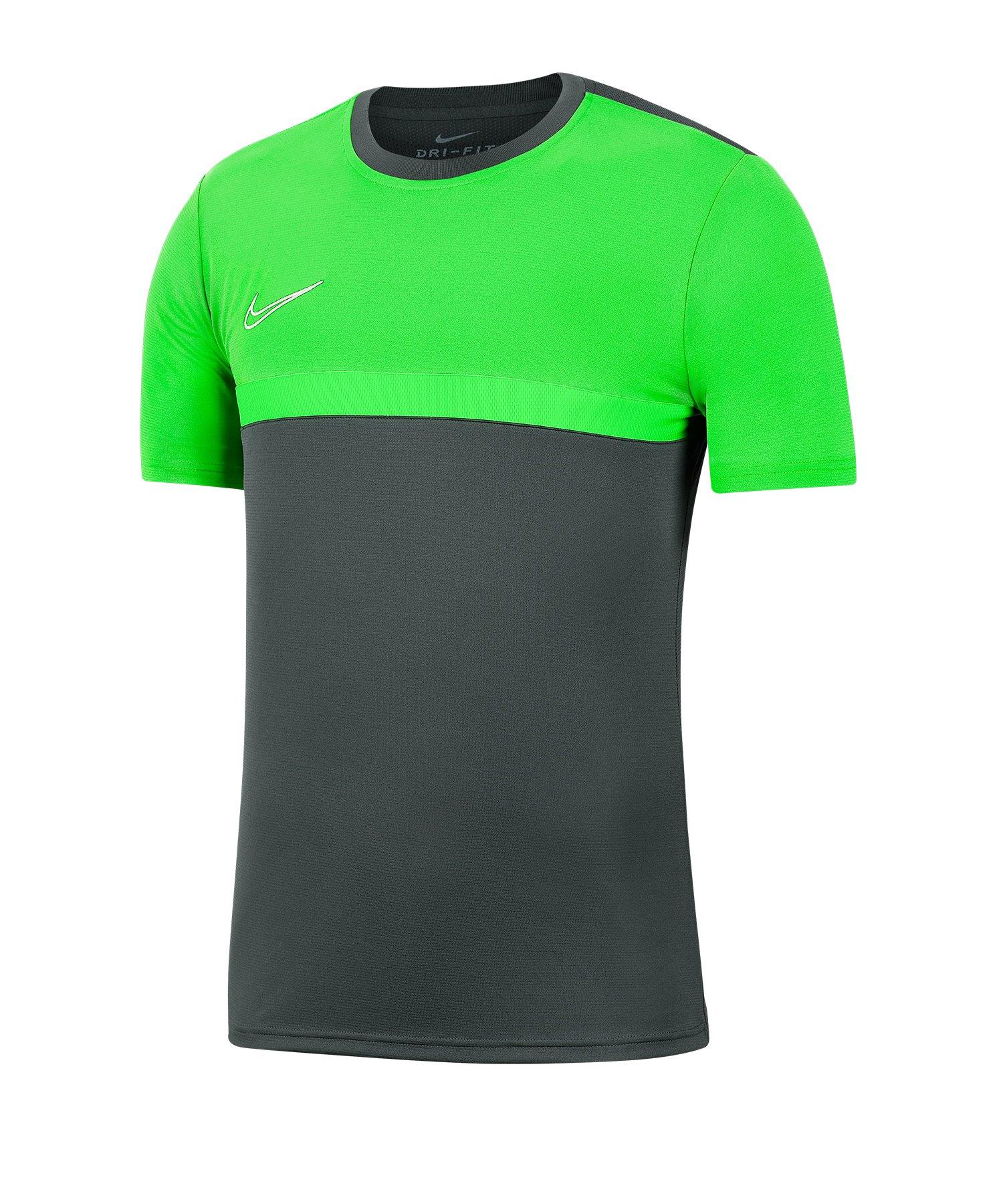 Nike Academy Pro Shirt kurzarm Kids F068 - grau