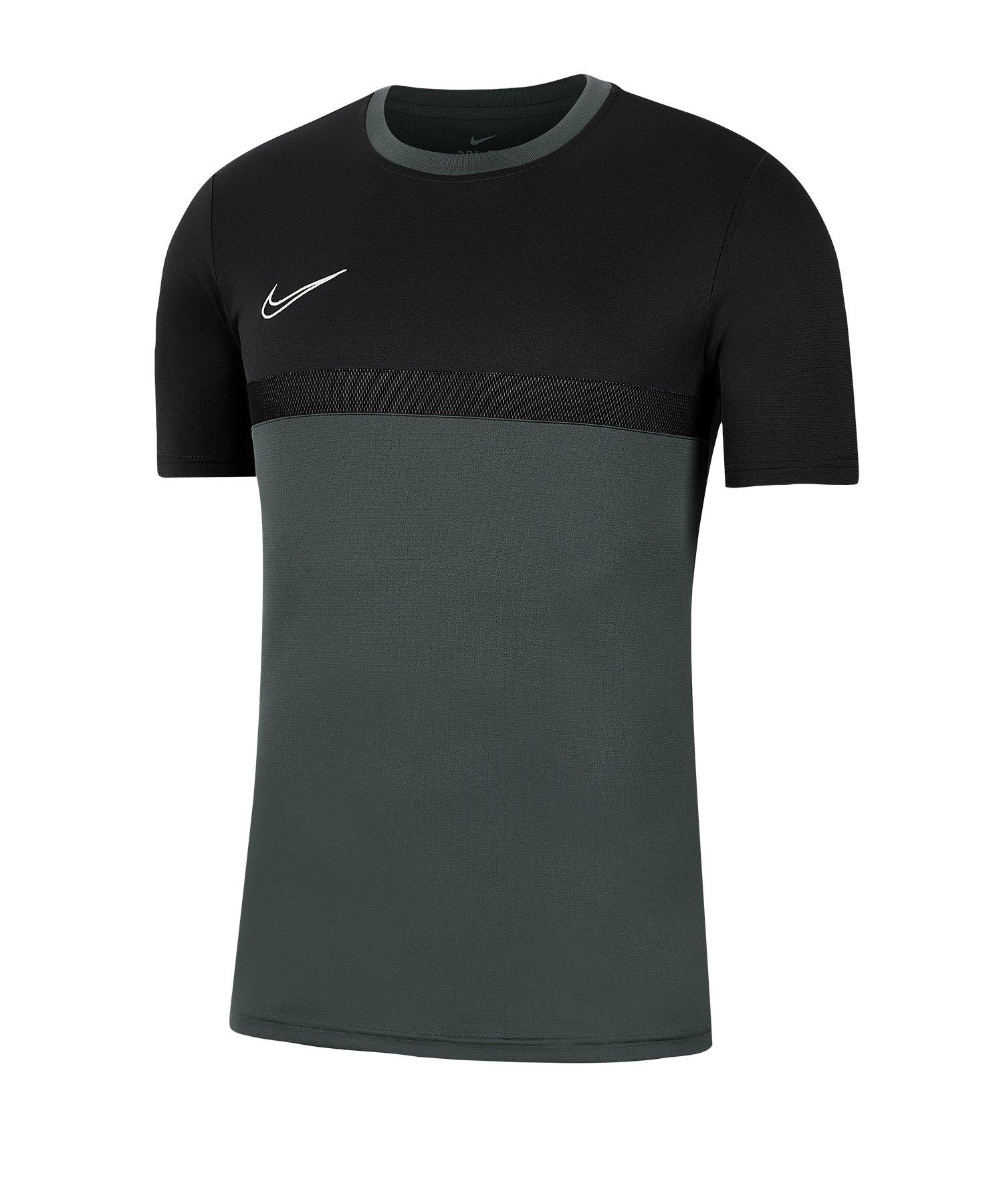 Nike Academy Pro Shirt kurzarm Kids F069 - grau