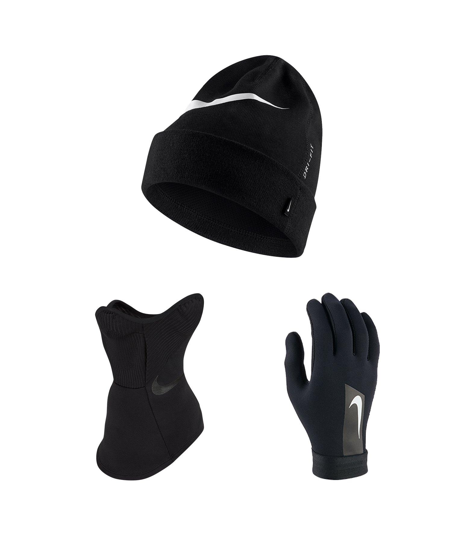 Nike Vapor 3er Winter Set Schwarz F010 - schwarz