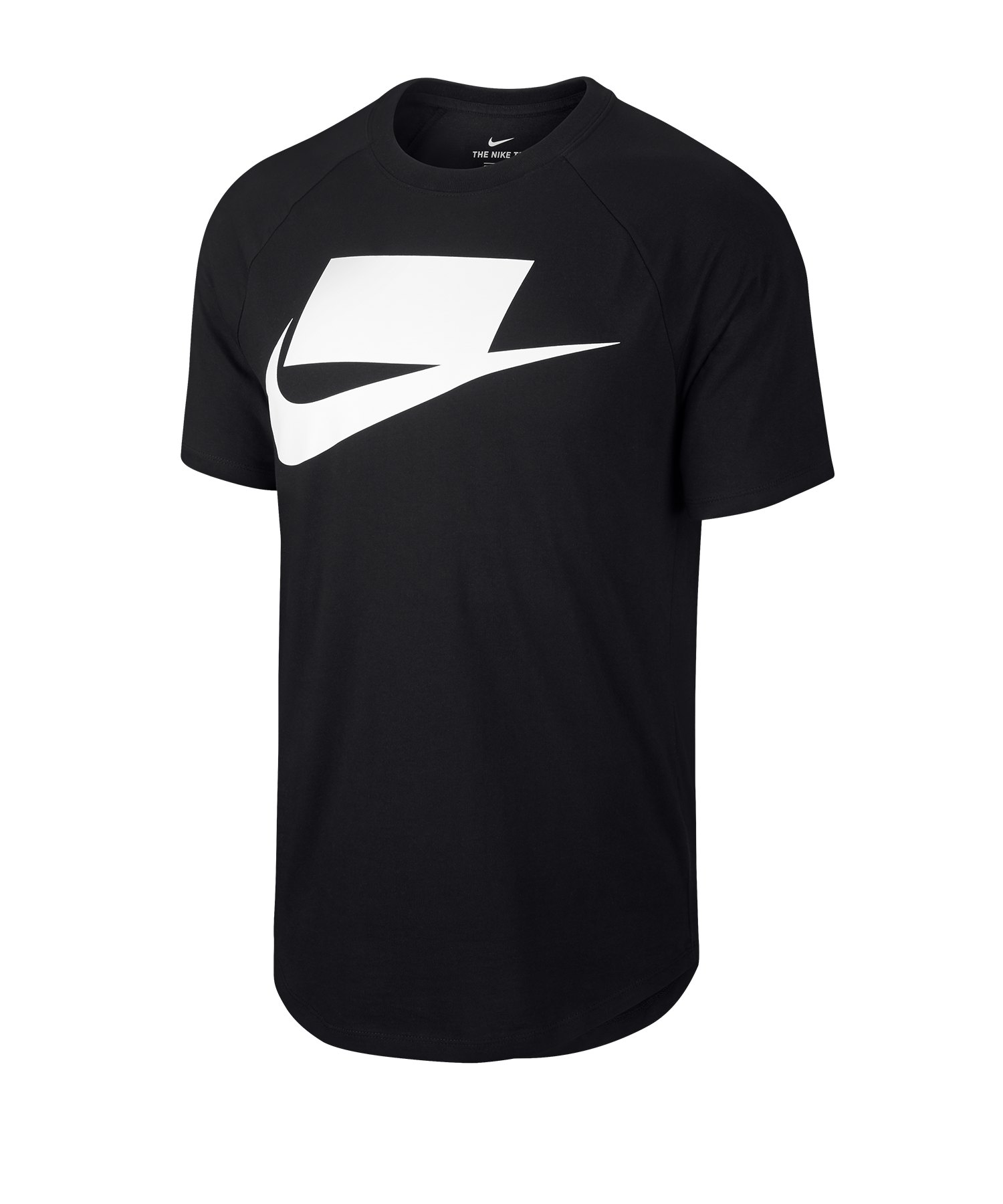 Nike Short Sleeve Tee T-Shir Schwarz F011 - schwarz