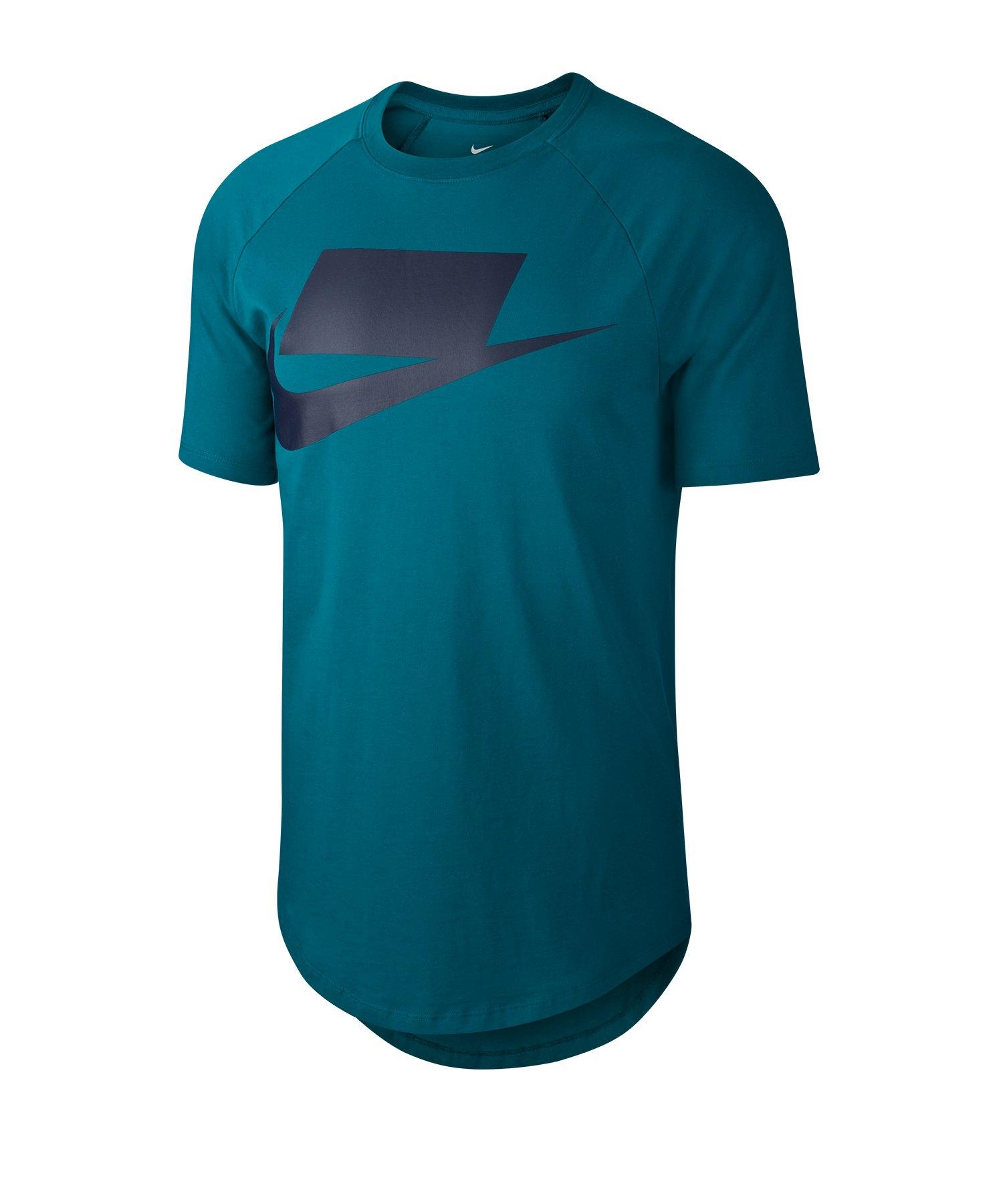 Nike Short Sleeve Tee T-Shirt Grün F381 - gruen