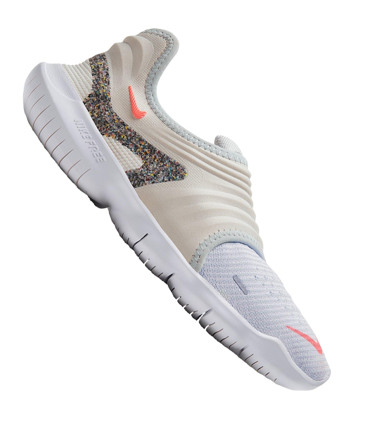 Nike Free RN Flyknit 3.0 AW Running Damen F001 - weiss