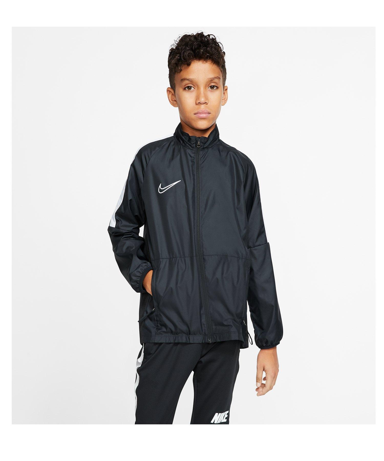 Nike Repel Academy Allwetterjacke Kids F011 - schwarz