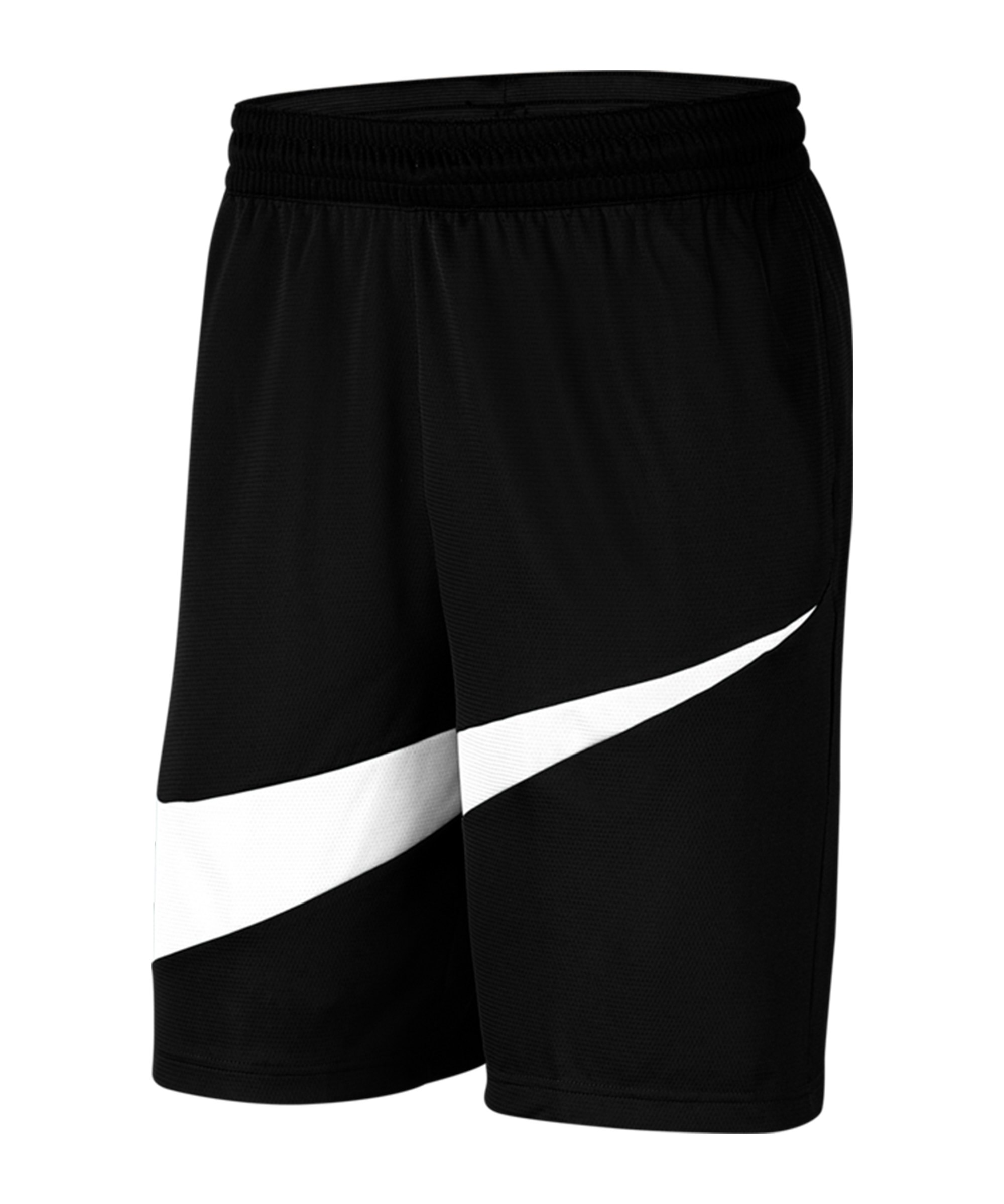 Nike HBR 2.0 Short Schwarz Weiss F011 - schwarz