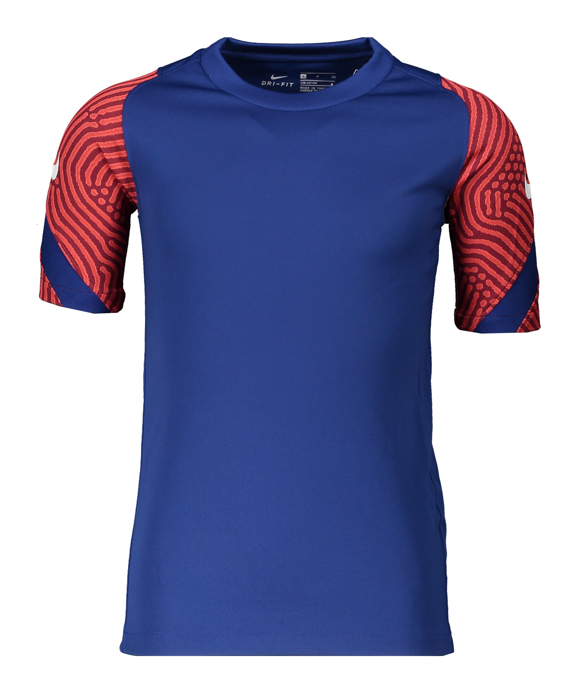 Nike Breathe Strike Top kurzarm Kids Blau F455 - blau