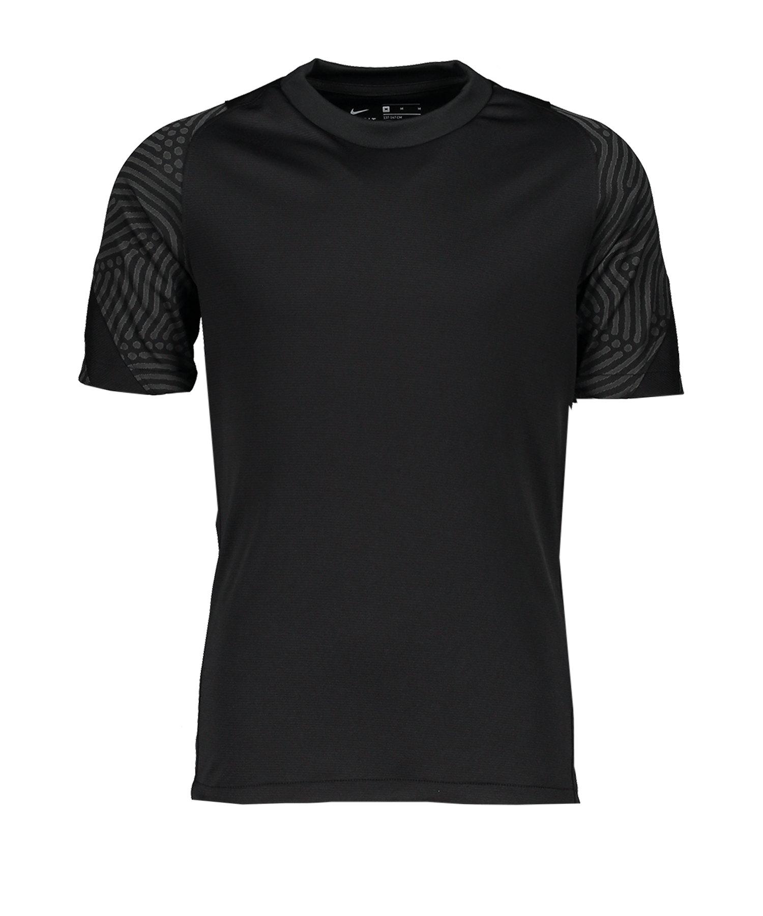Nike Breathe Strike Top kurzarm Kids Schwarz F010 - schwarz