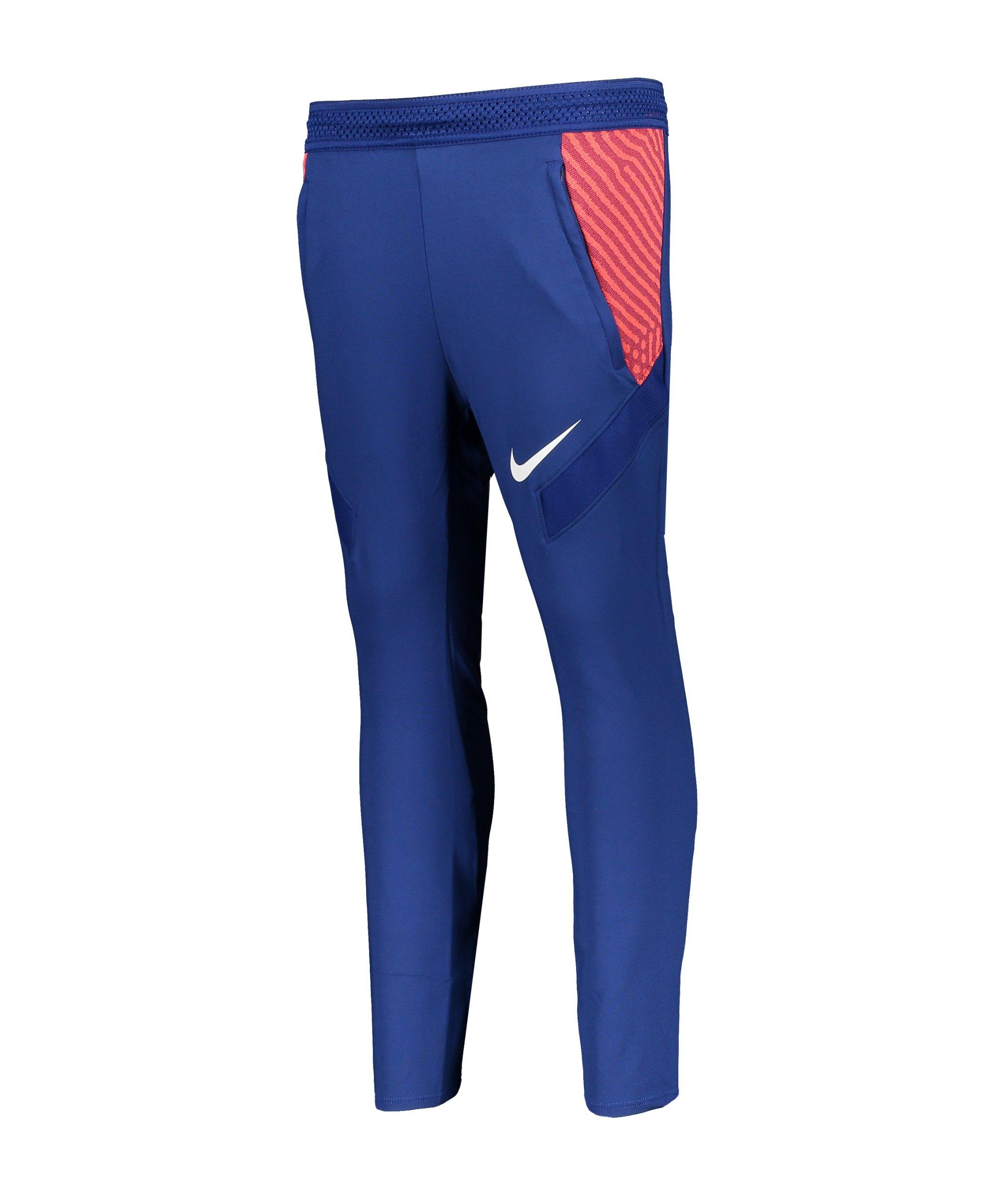 Nike Dry Strike Trainingshose Kids Blau F455 - blau