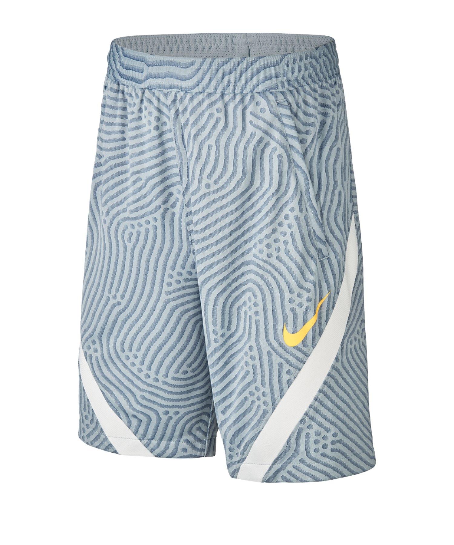 Nike Dri-FIT Strike Shorts Kids Blau F464 - blau