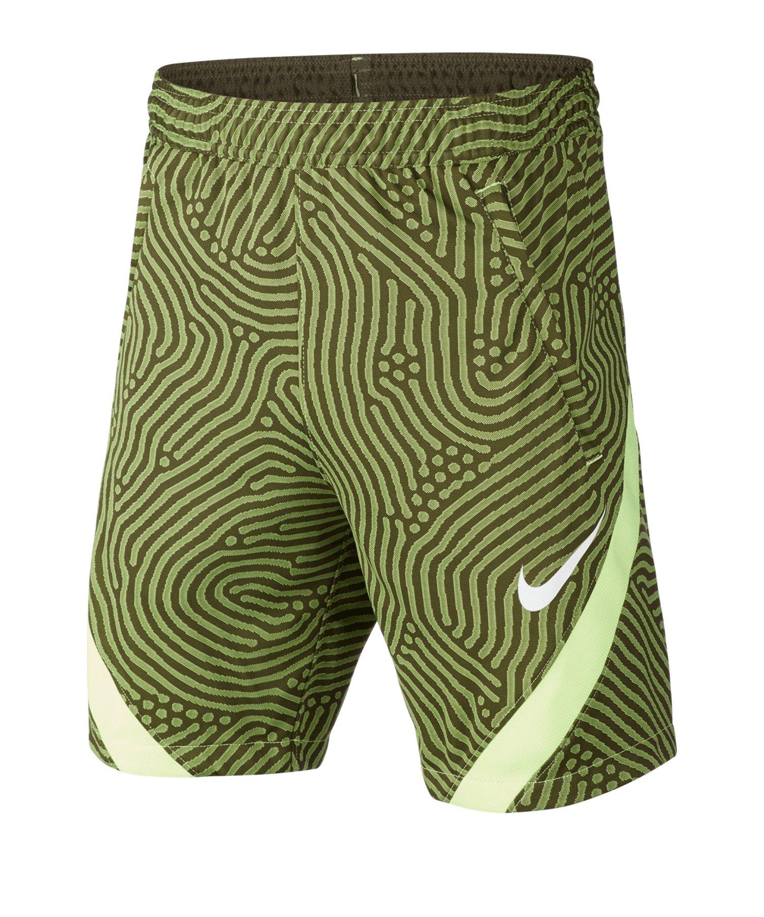 Nike Dri-FIT Strike Shorts Kids Grün F325 - gruen