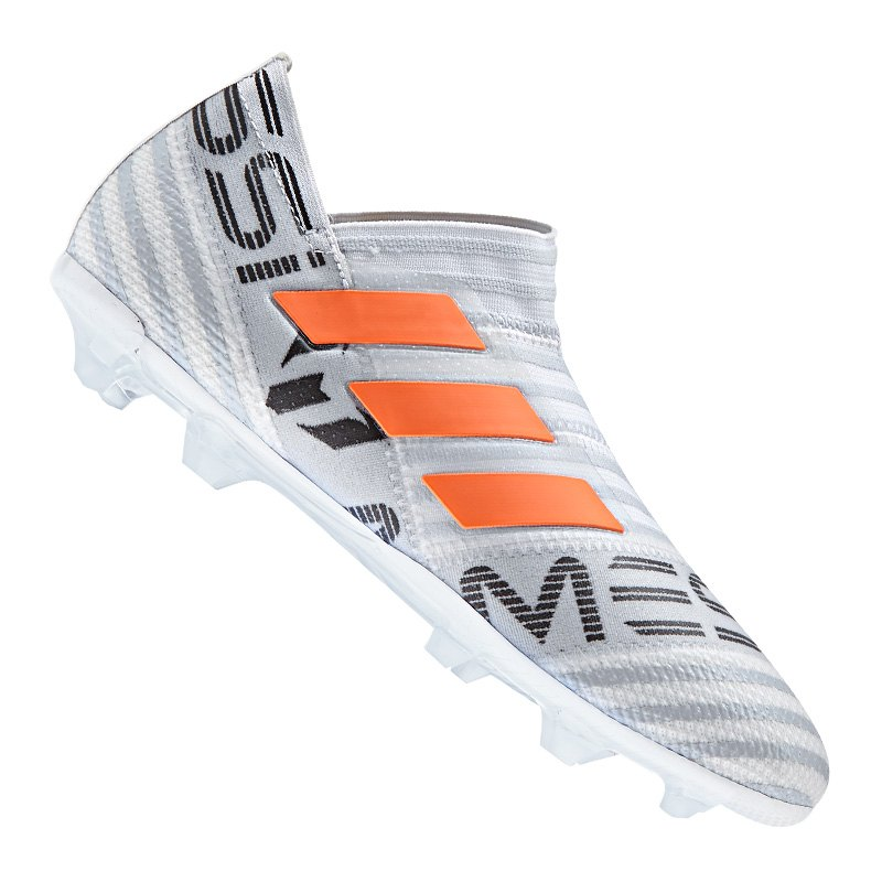 adidas NEMEZIZ Messi 17+ 360Agility FG Kids Weiss - weiss