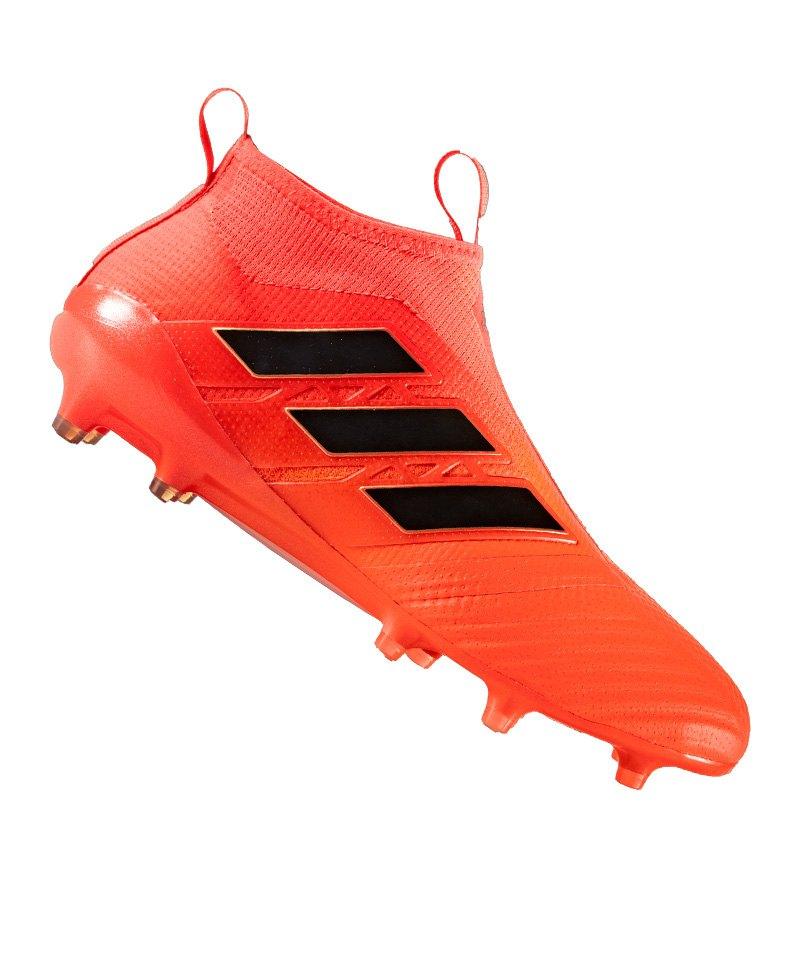adidas FG ACE 17+ Purecontrol Rot Schwarz - rot