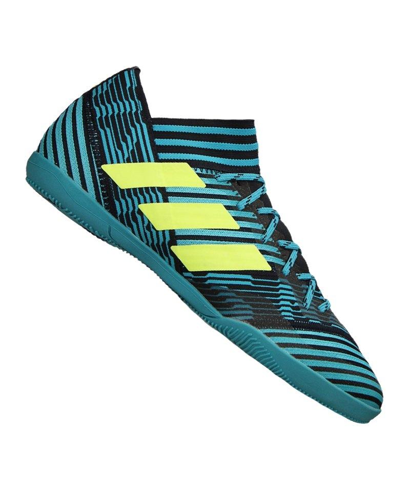 adidas IN Halle NEMEZIZ Tango 17.3 Blau Gelb - blau